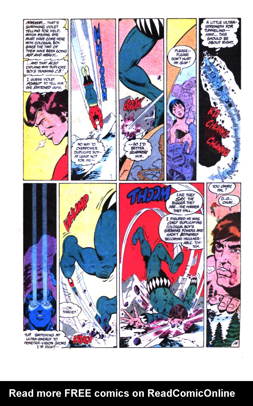 Legion of Super-Heroes (1980) 298 Page 30
