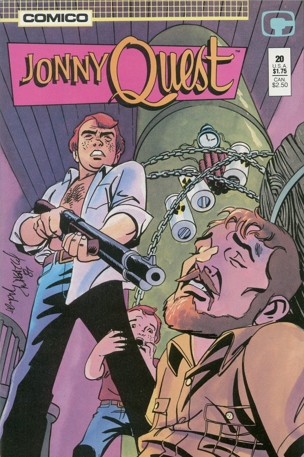 Jonny Quest (1986) issue 20 - Page 1