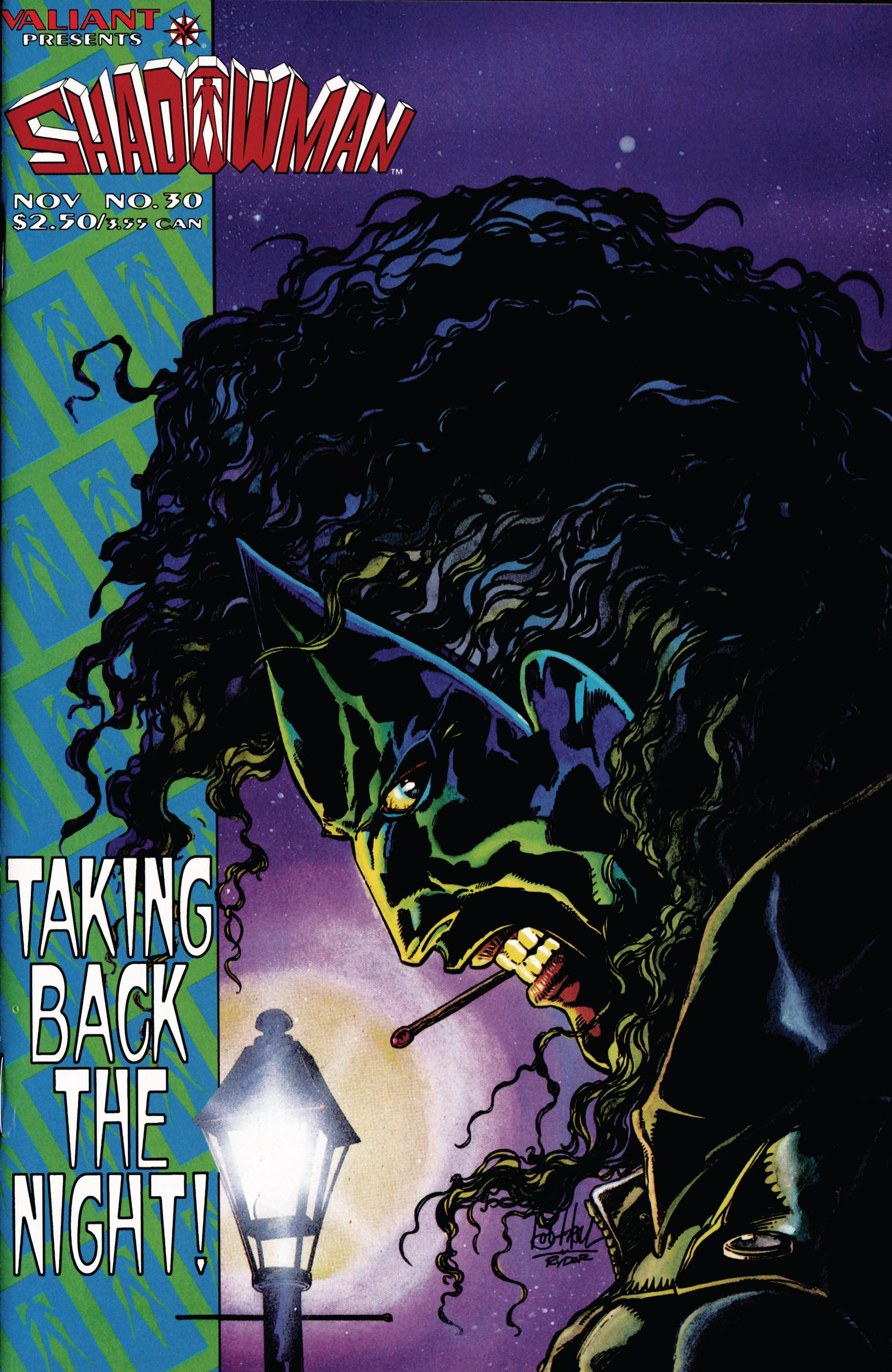 Read online Shadowman (1992) comic -  Issue #30 - 1