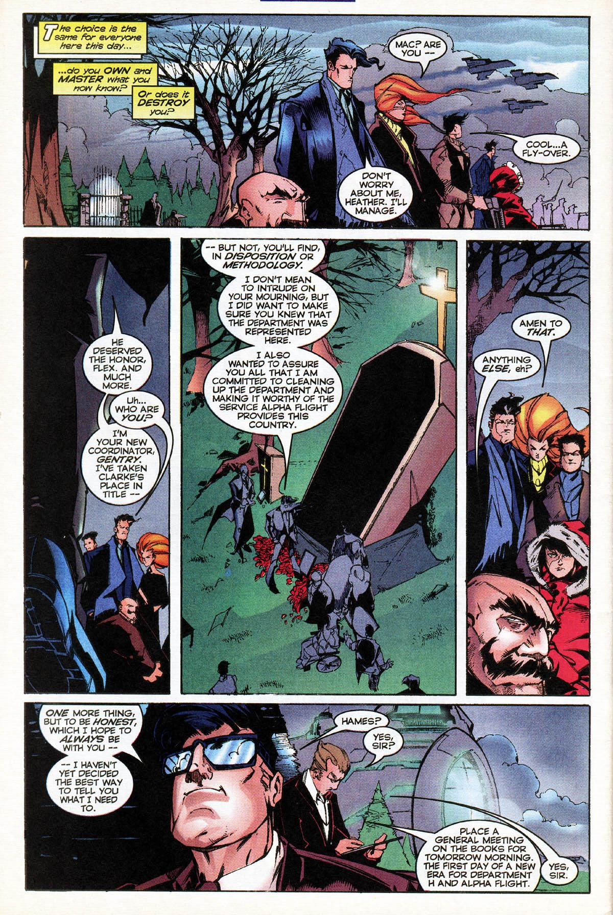 Read online Alpha Flight (1997) comic -  Issue #14 - 32