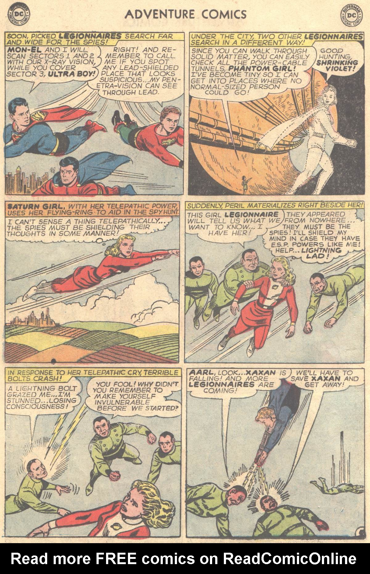 Read online Adventure Comics (1938) comic -  Issue #337 - 6