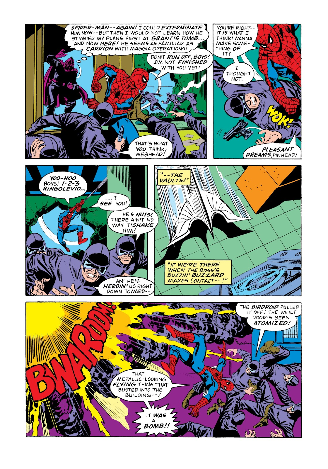 Read online Marvel Masterworks: The Spectacular Spider-Man comic -  Issue # TPB 2 (Part 2) - 85
