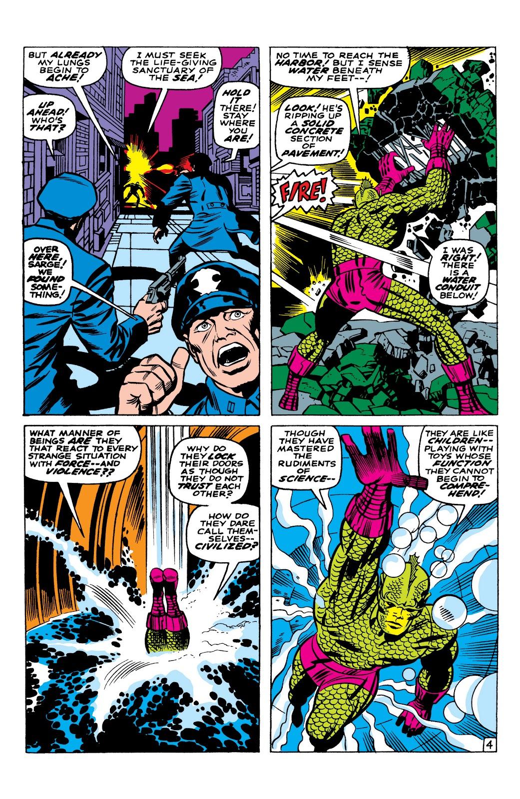 Read online Marvel Masterworks: The Inhumans comic -  Issue # TPB 1 (Part 1) - 41