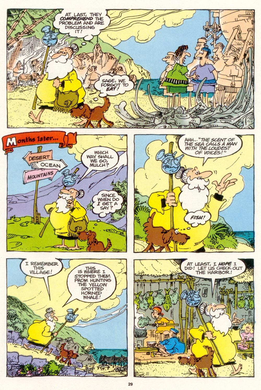 Read online Sergio Aragonés Groo the Wanderer comic -  Issue #103 - 31