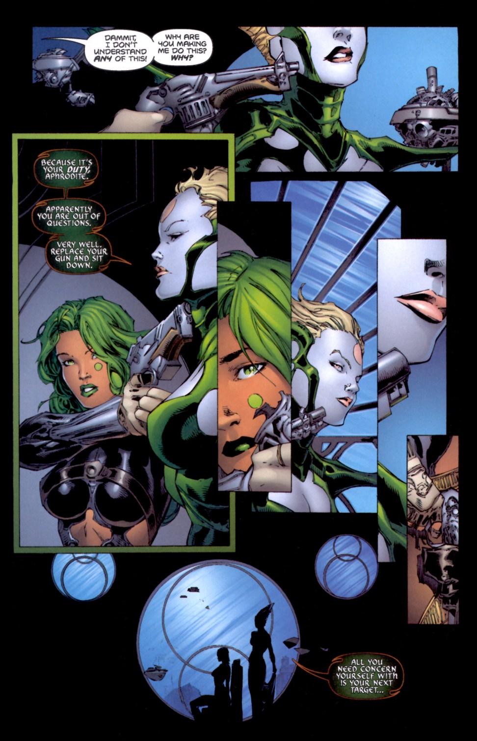 Read online Aphrodite IX (2000) comic -  Issue #4 - 20