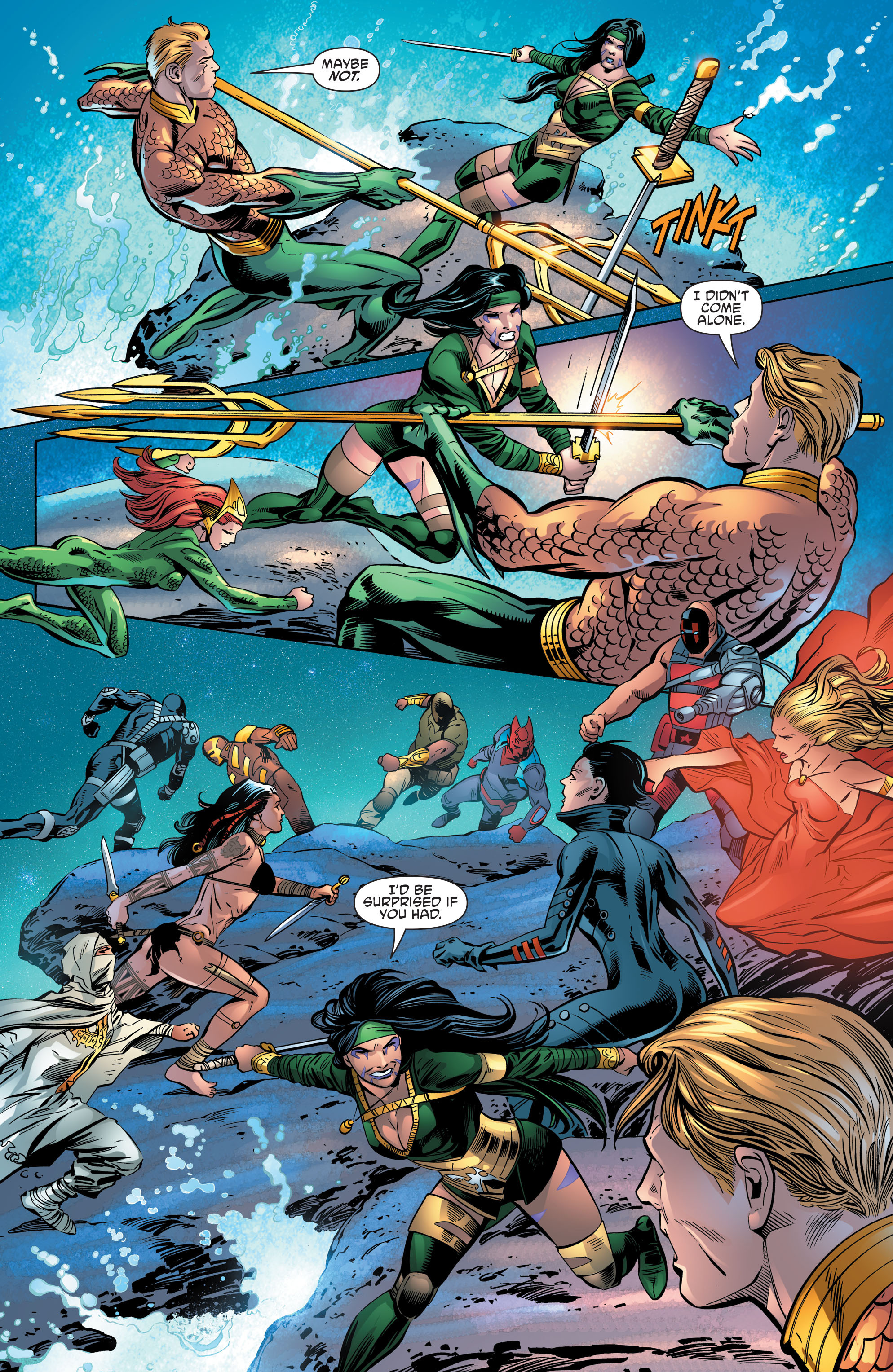 Read online Aquaman and the Others comic -  Issue #10 - 20