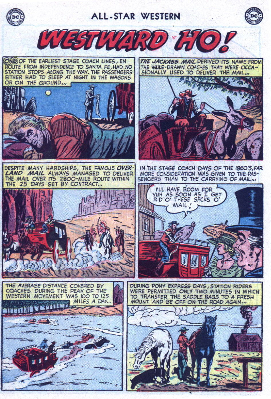 Read online All-Star Western (1951) comic -  Issue #75 - 18