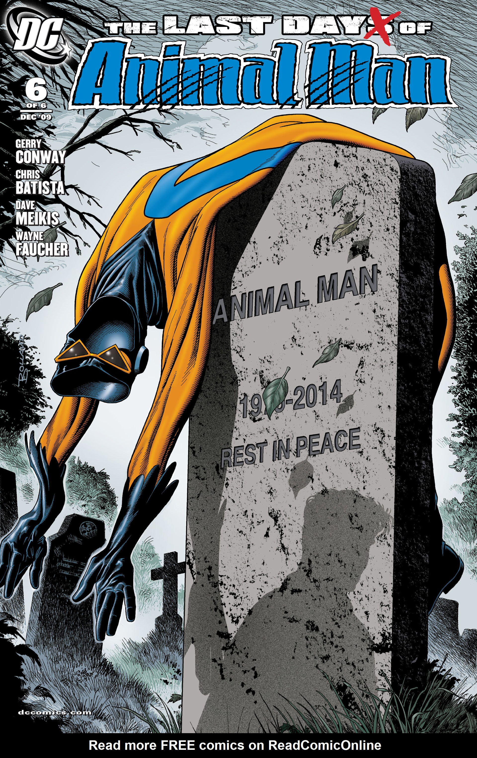 The Last Days of Animal Man 6 Page 1