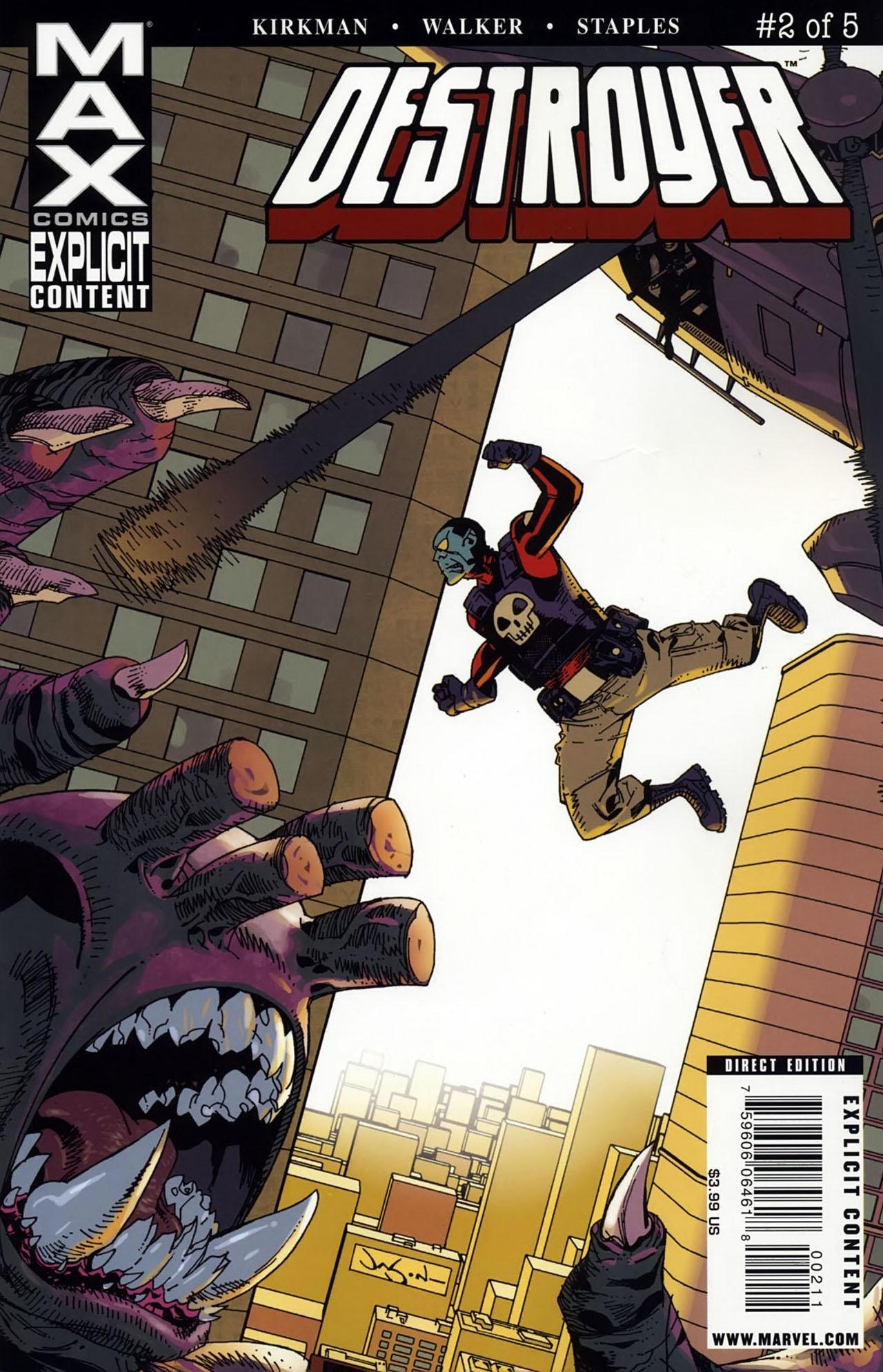 Read online Destroyer comic -  Issue #2 - 1