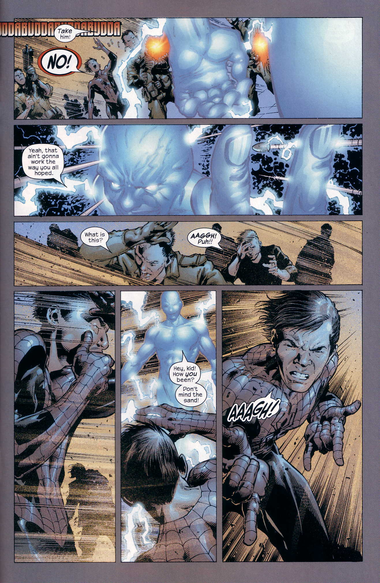Read online Ultimate Six comic -  Issue #4 - 22