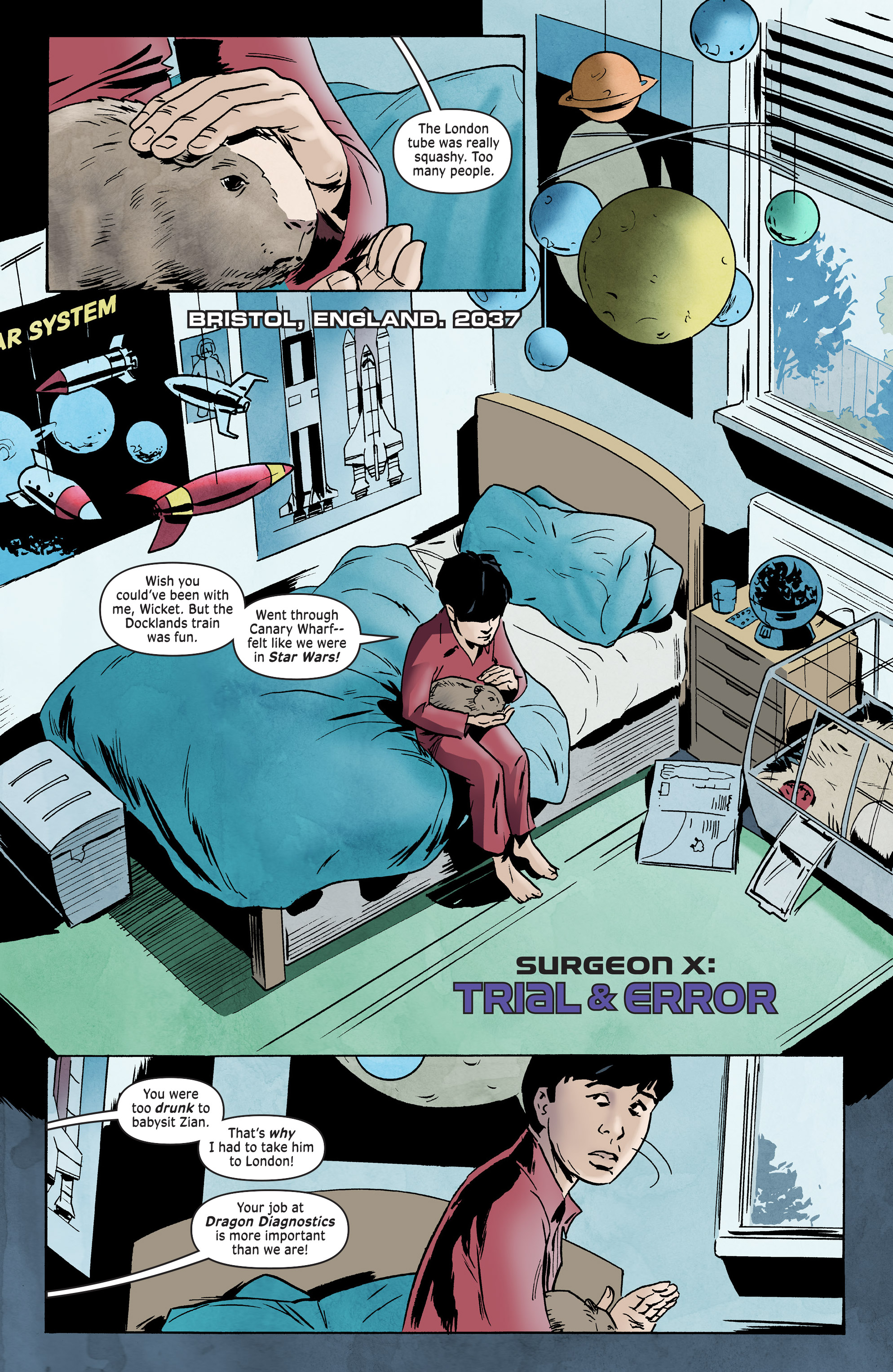 Read online Surgeon X Special: Trial & Error comic -  Issue # Full - 3