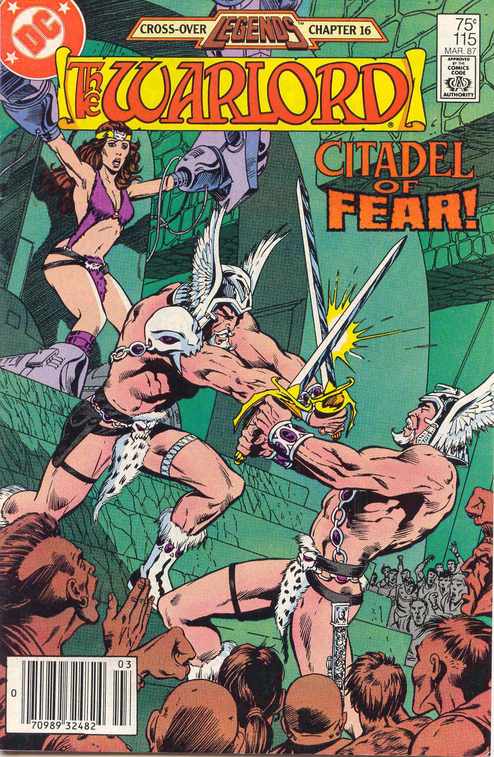 Warlord (1976) 115 Page 1