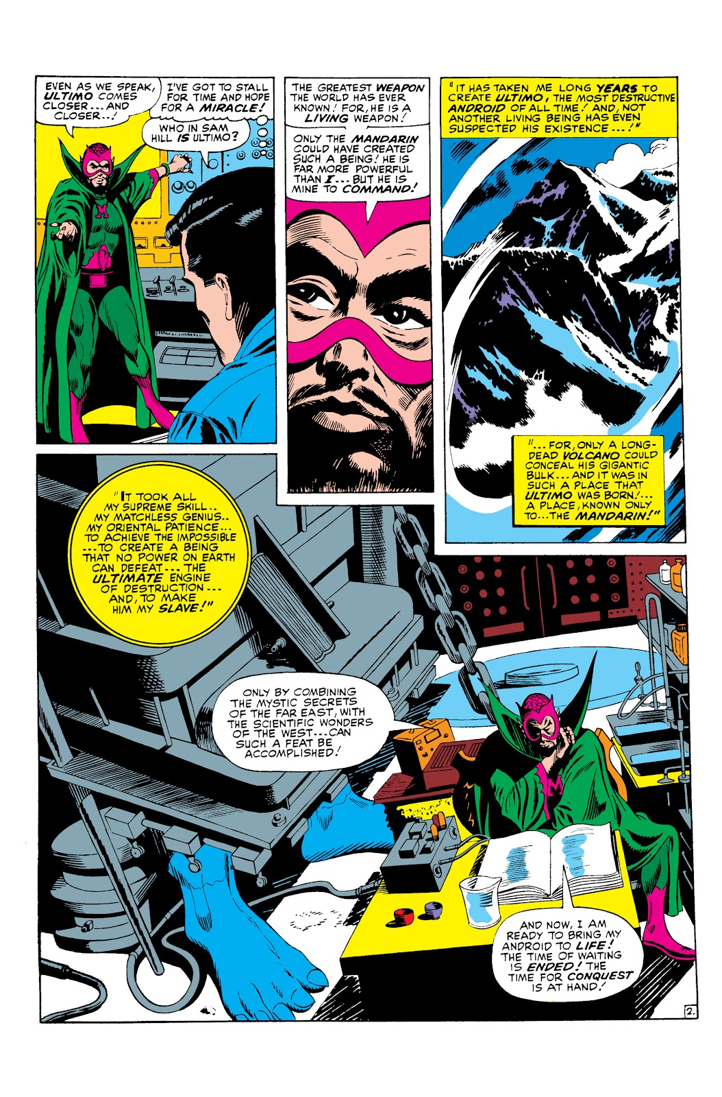 Read online Marvel Masterworks: The Invincible Iron Man comic -  Issue # TPB 3 (Part 3) - 58