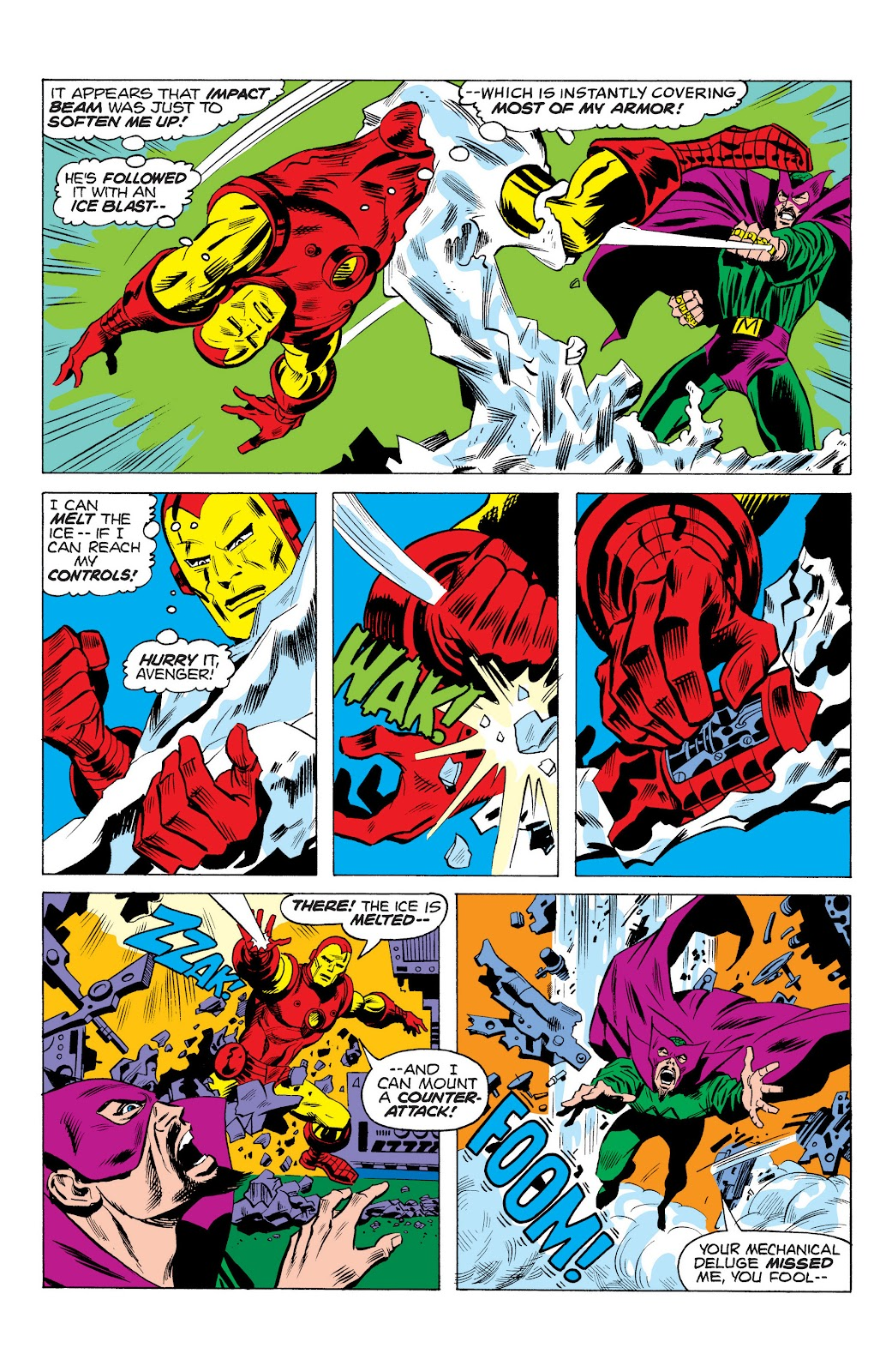 Read online Marvel Masterworks: The Invincible Iron Man comic -  Issue # TPB 10 (Part 1) - 32