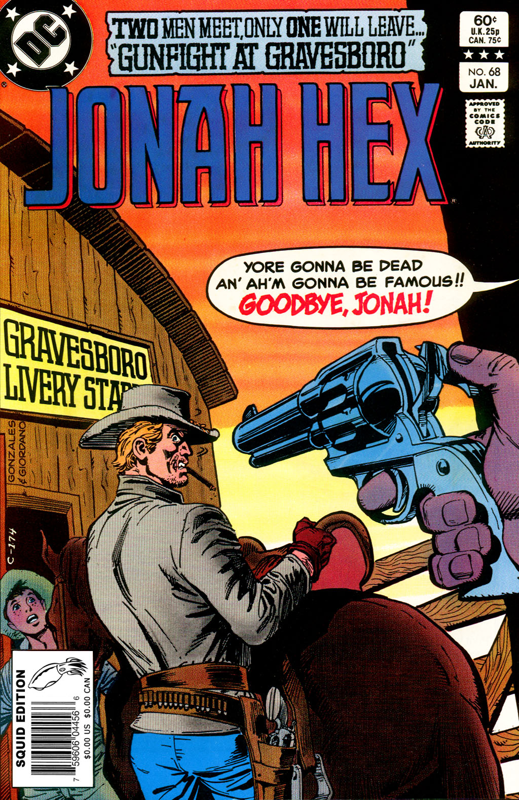 Jonah Hex (1977) 68 Page 1