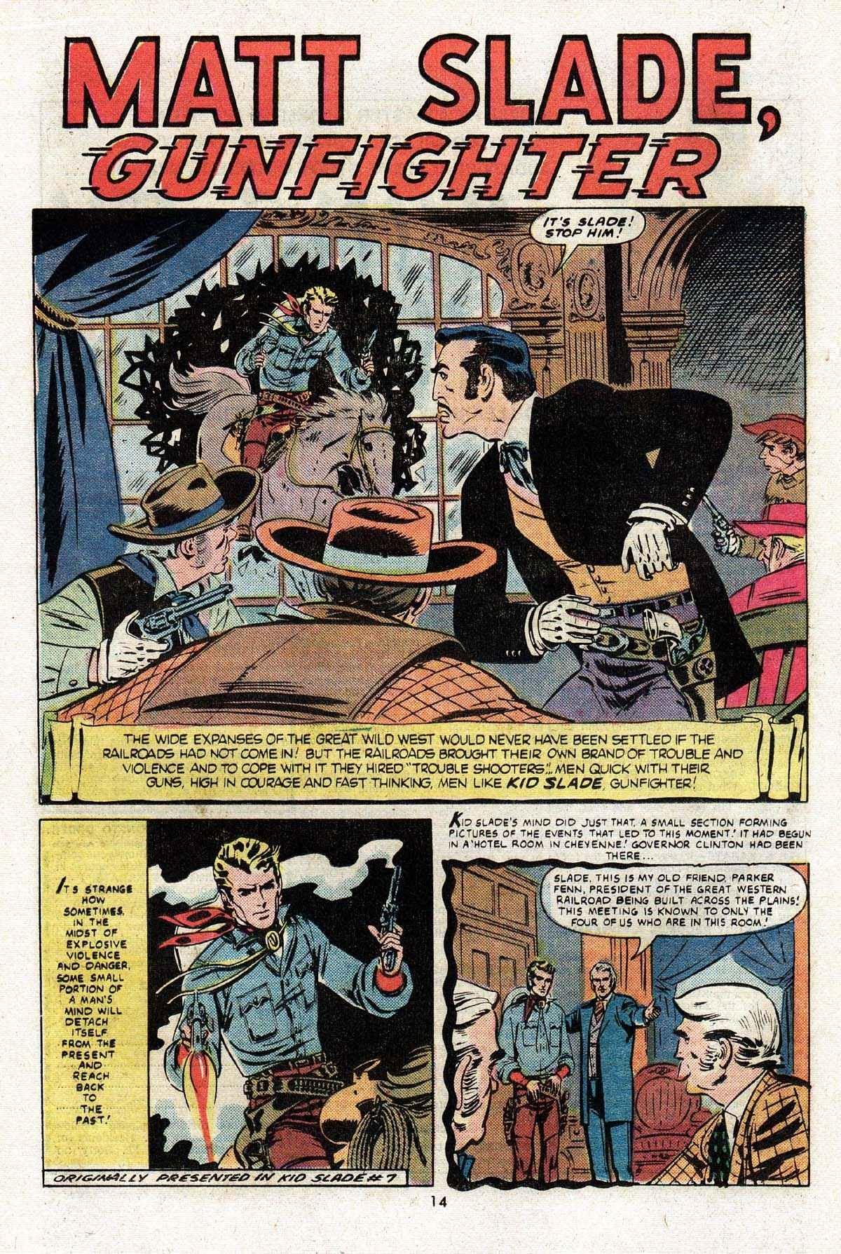 Kid Slade, Gunfighter 7 Page 2