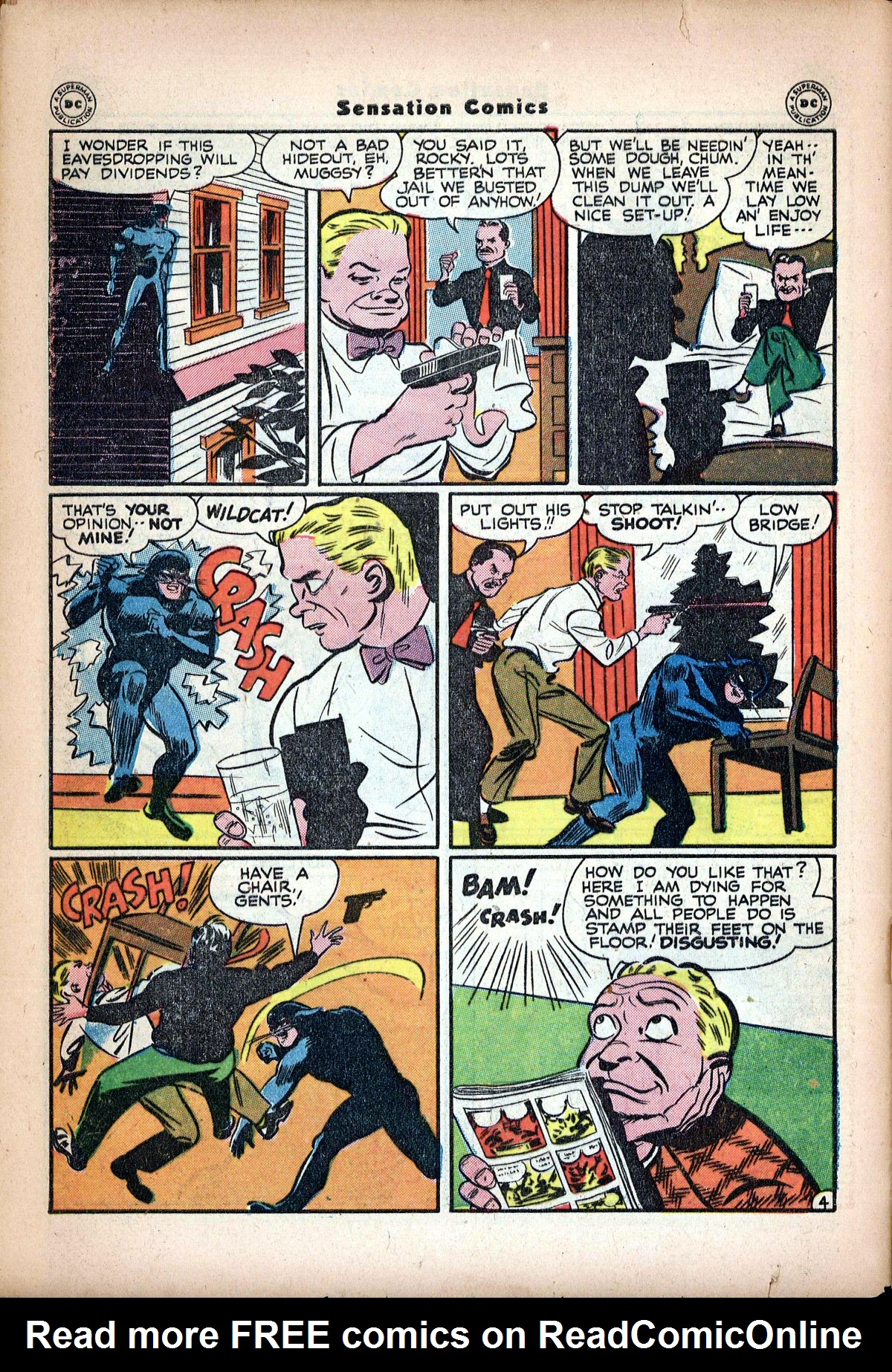 Read online Sensation (Mystery) Comics comic -  Issue #62 - 46