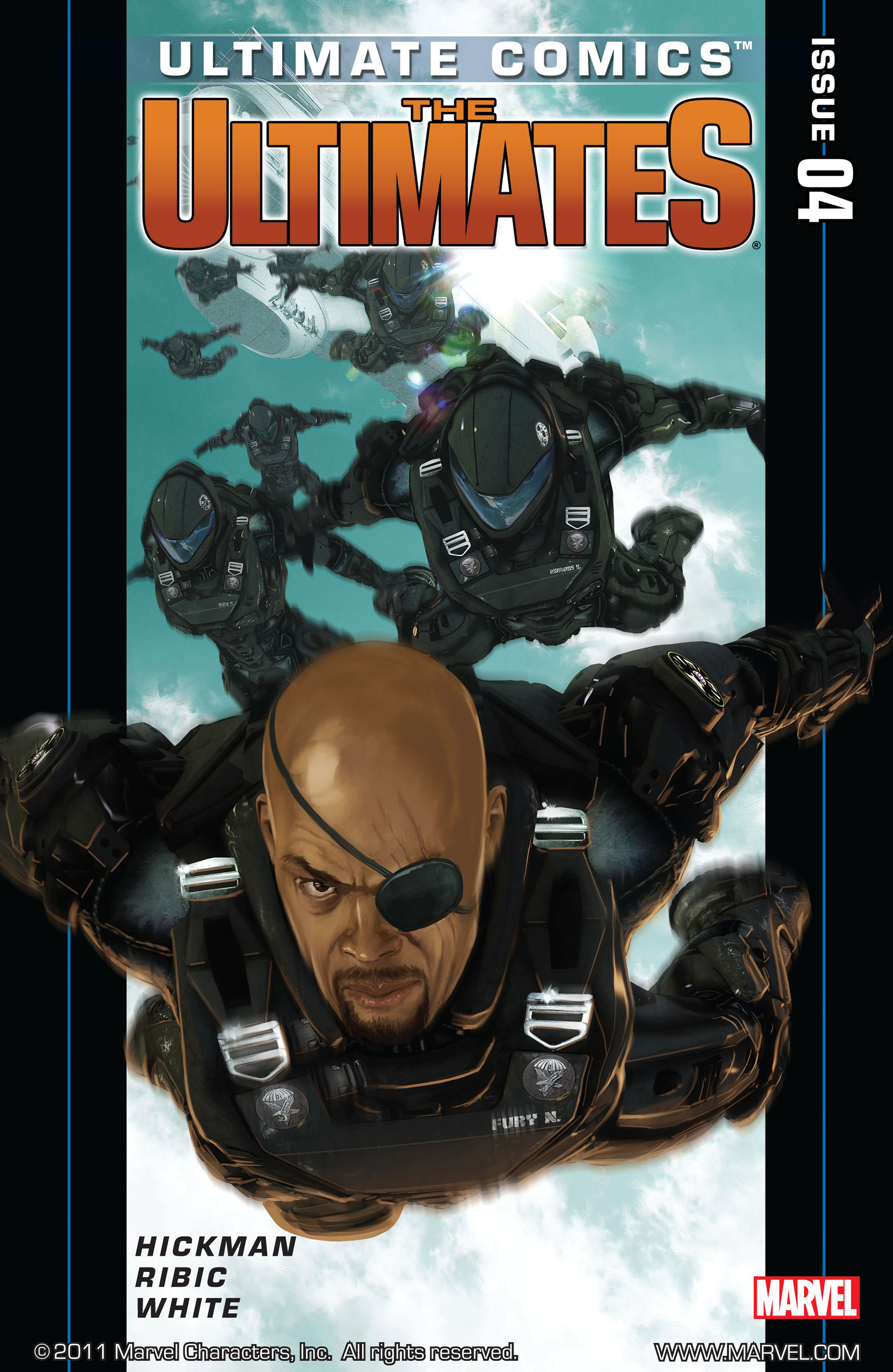 Read online Ultimate Comics Ultimates comic -  Issue #4 - 1
