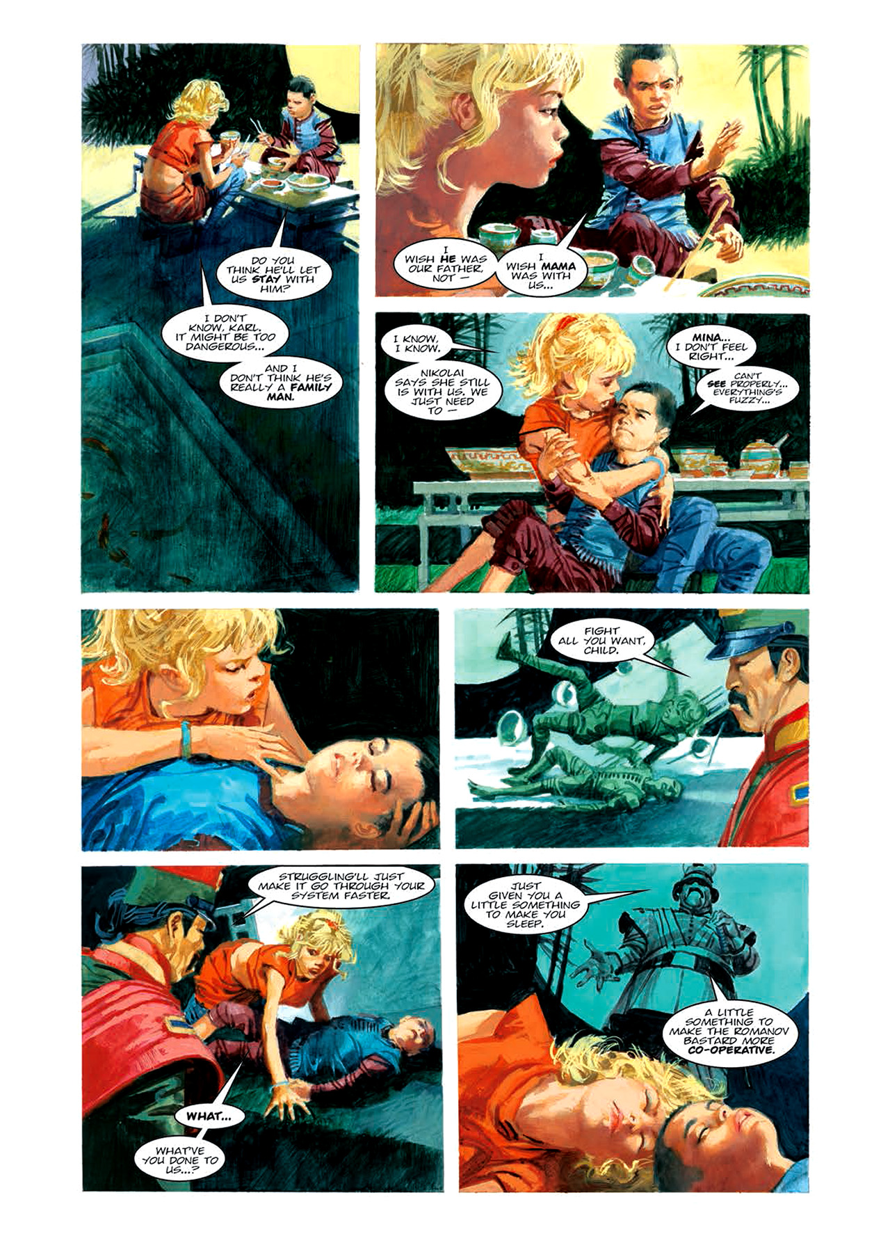 Read online Nikolai Dante comic -  Issue # TPB 6 - 111