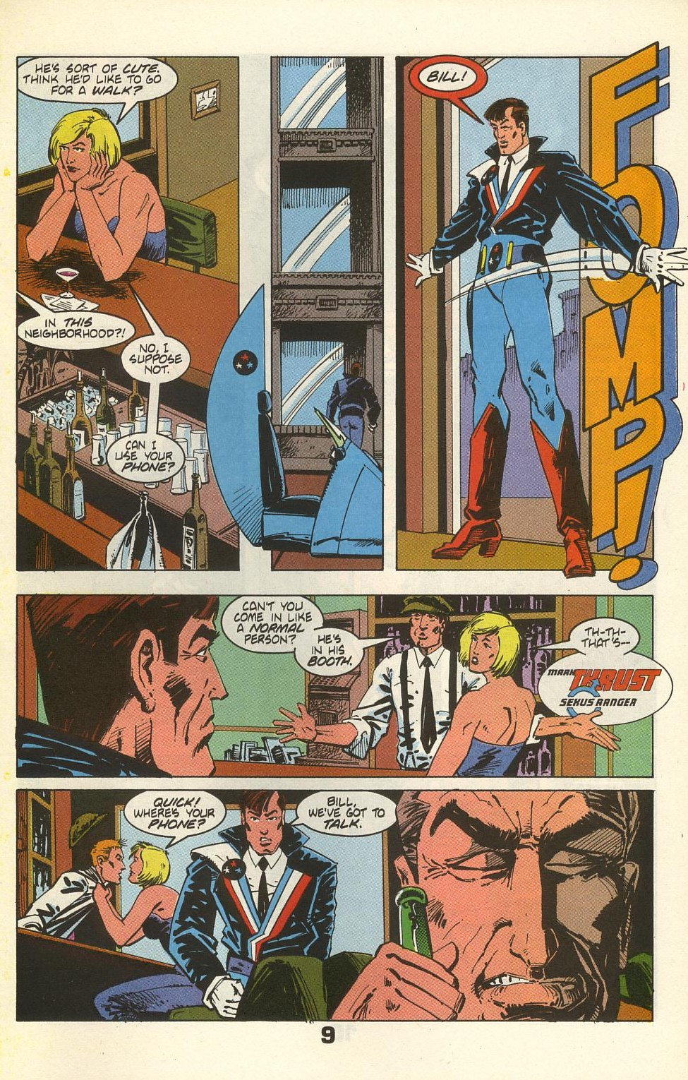 Read online American Flagg! comic -  Issue #35 - 13