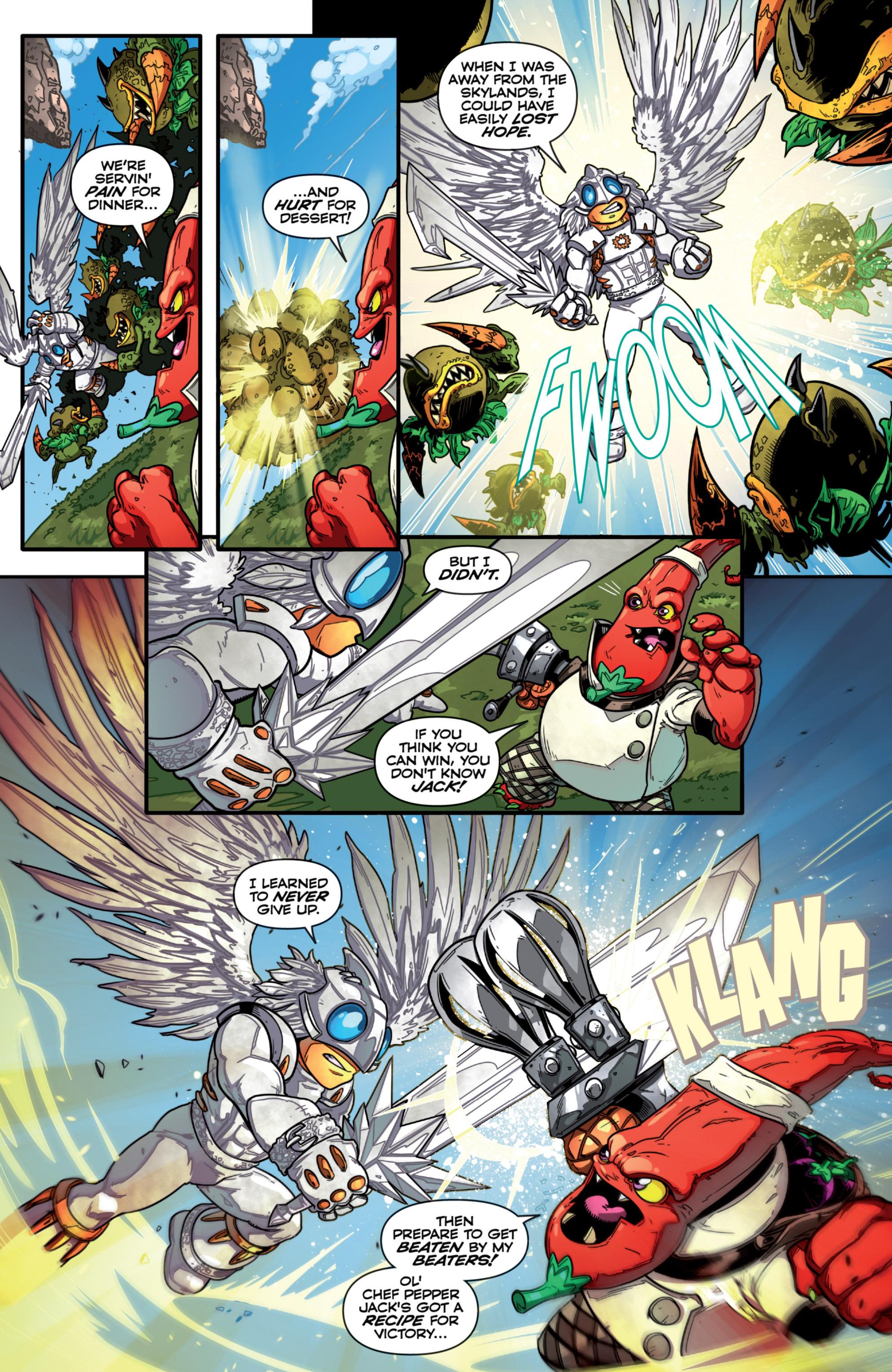 Read online Skylanders comic -  Issue #7 - 21