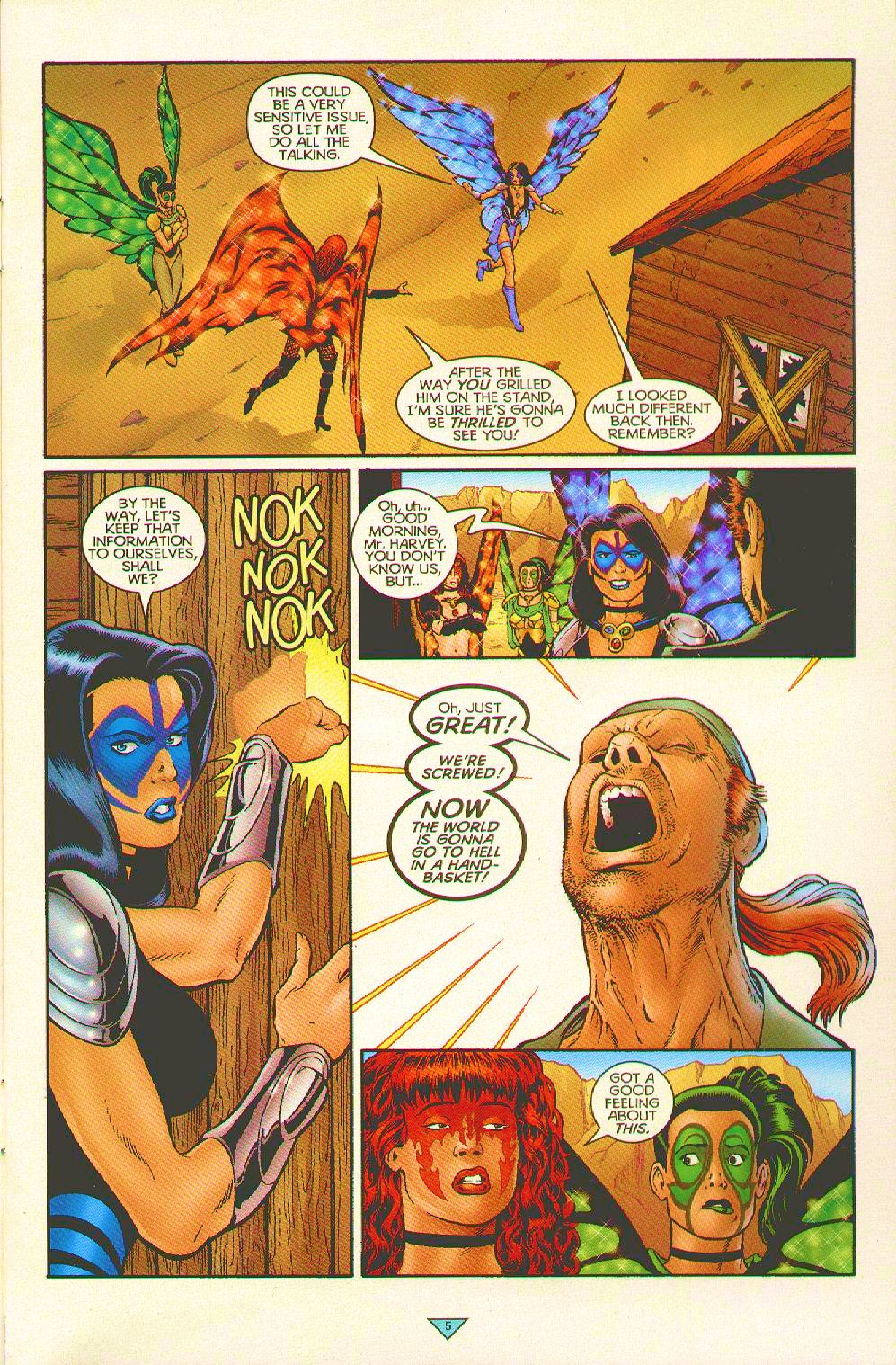 Read online Trinity Angels comic -  Issue #5 - 5
