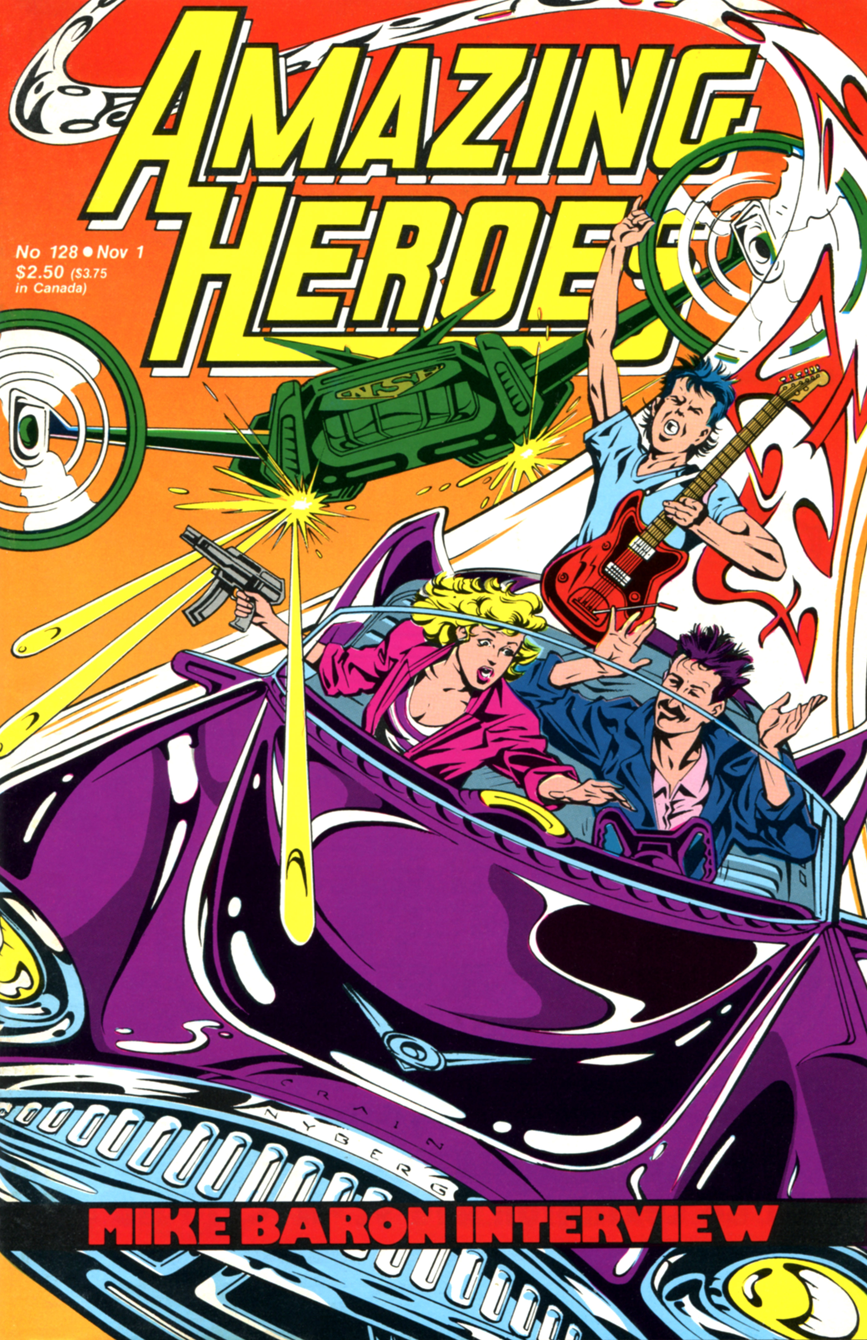 Read online Amazing Heroes comic -  Issue #128 - 1