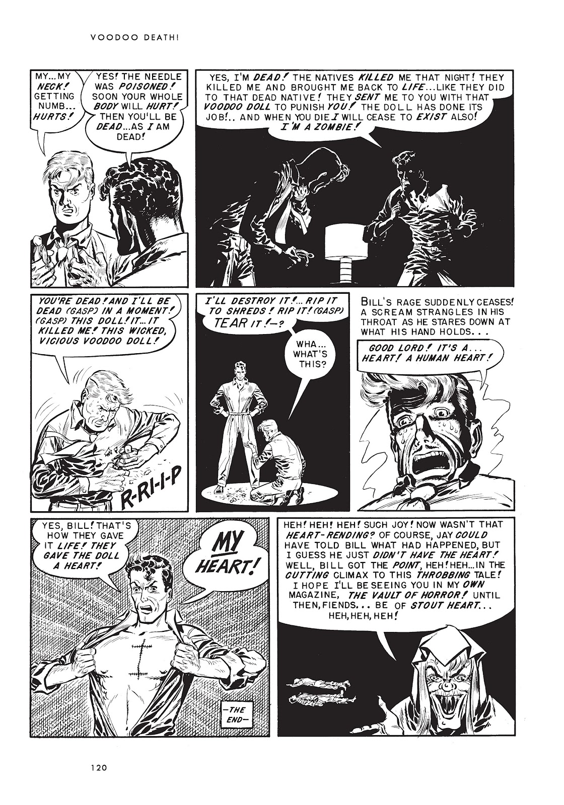 Read online Voodoo Vengeance and Other Stories comic -  Issue # TPB (Part 2) - 38