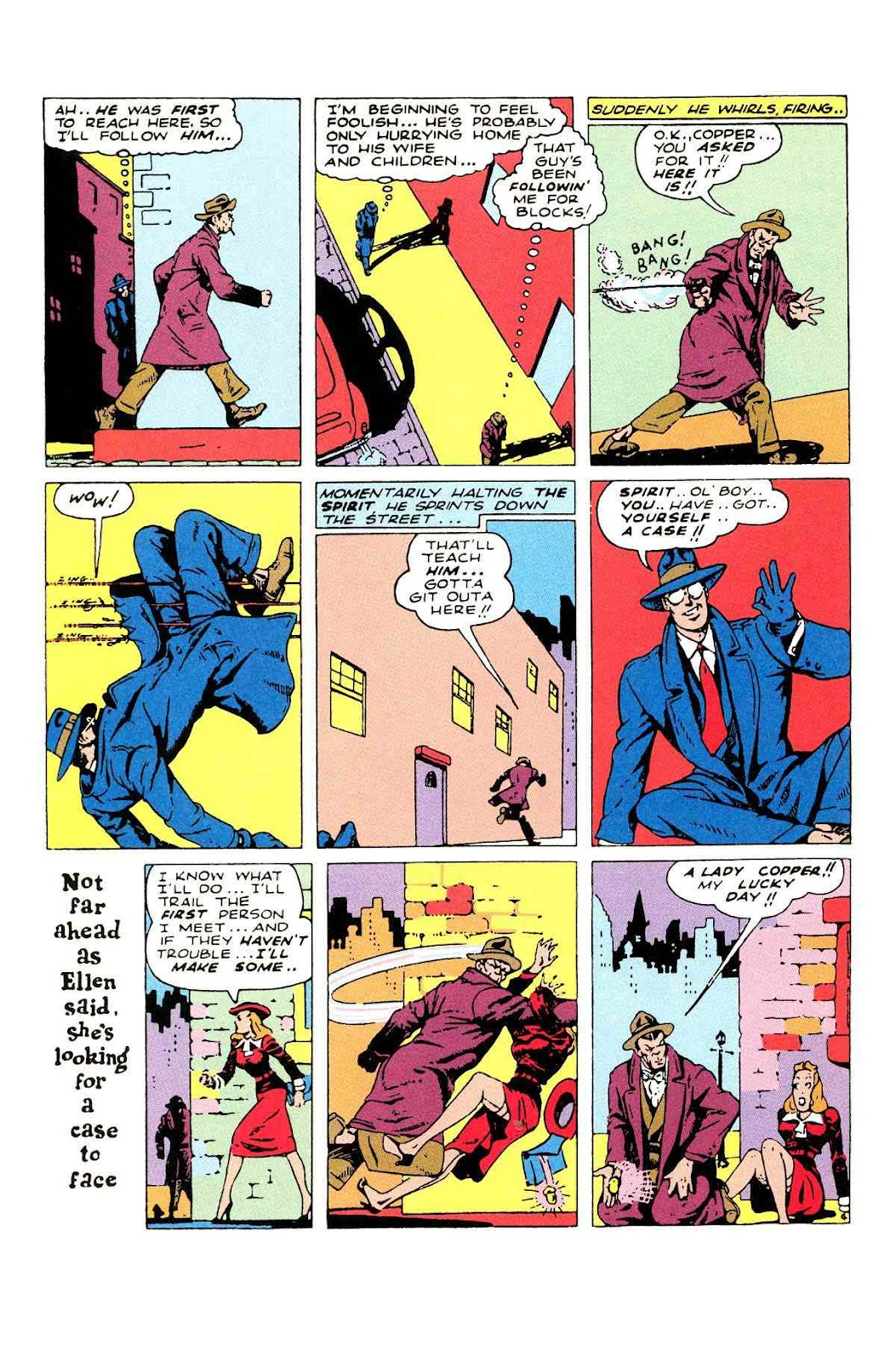 Read online Will Eisner's The Spirit Archives comic -  Issue # TPB 2 (Part 2) - 48