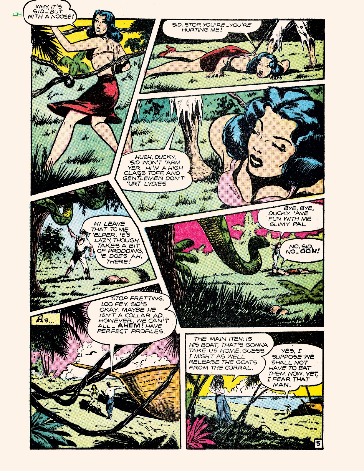 Read online Jungle Girls comic -  Issue # TPB (Part 2) - 34