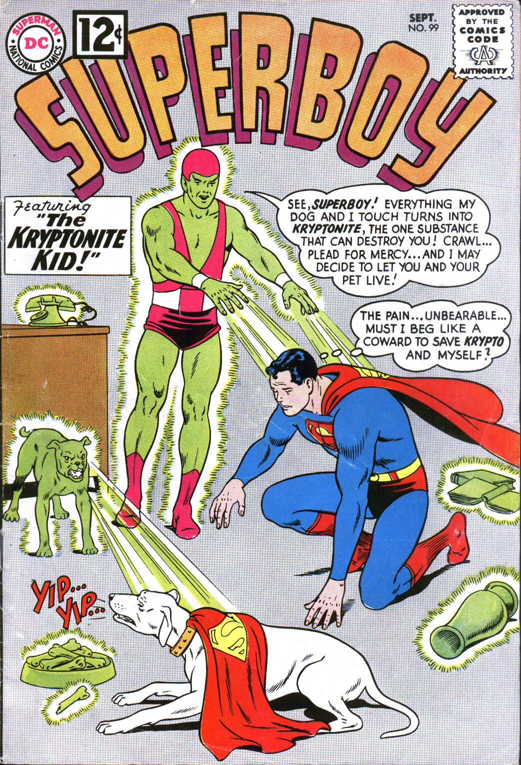 Superboy (1949) issue 99 - Page 1