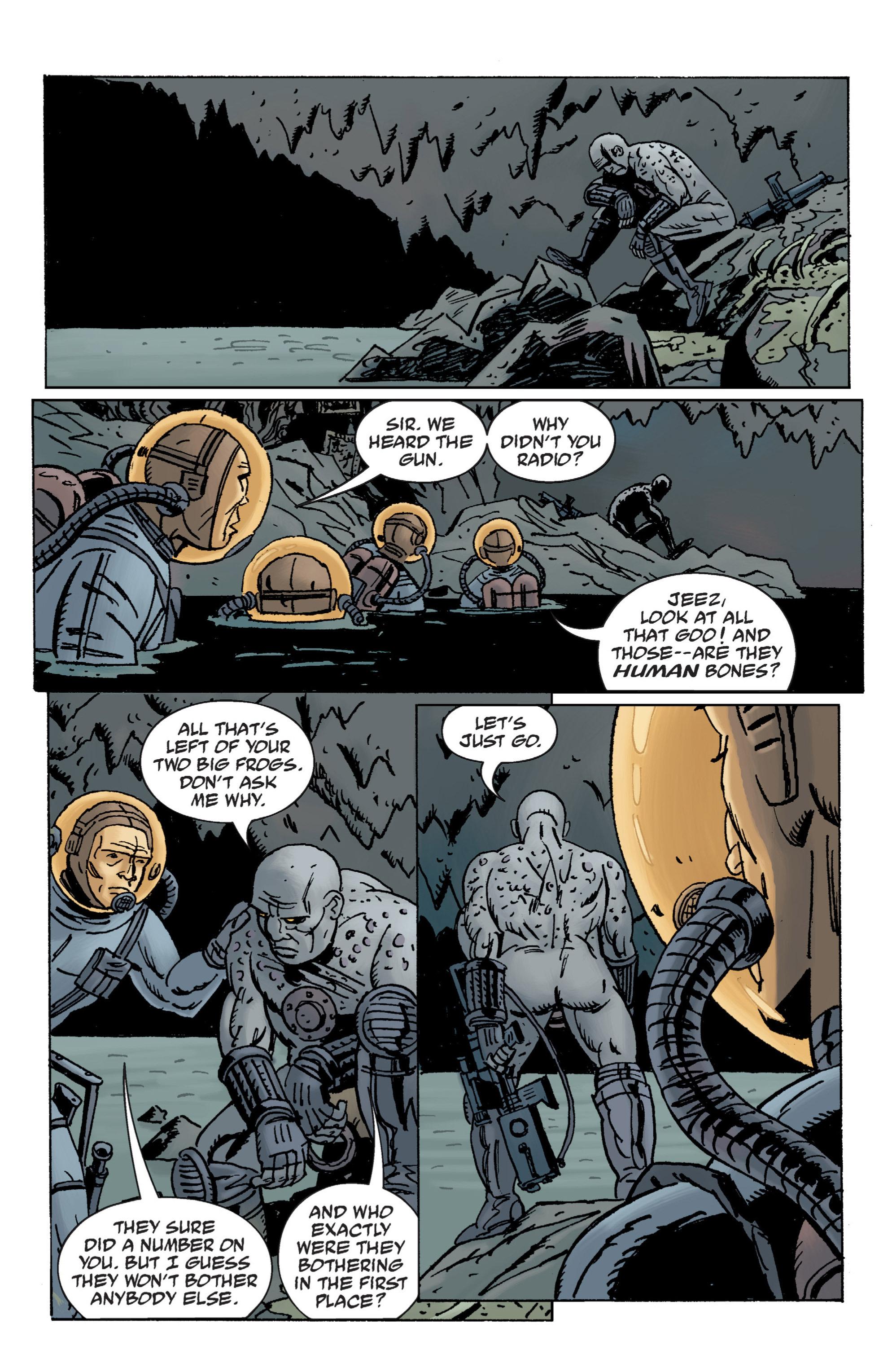 Read online B.P.R.D. (2003) comic -  Issue # TPB 12 - 31