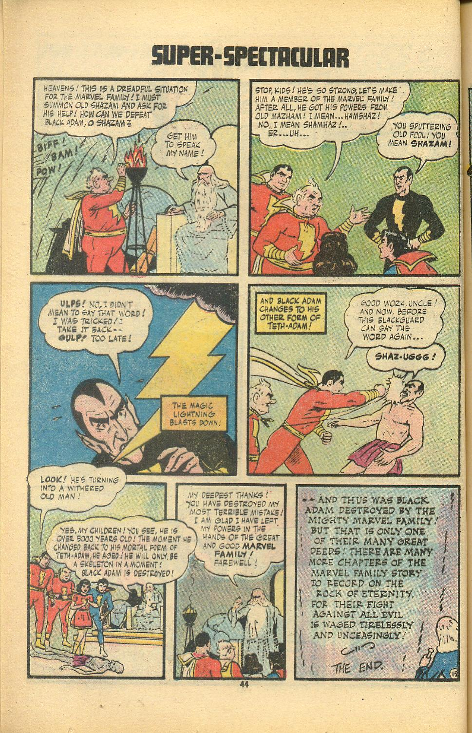 Read online Shazam! (1973) comic -  Issue #8 - 44
