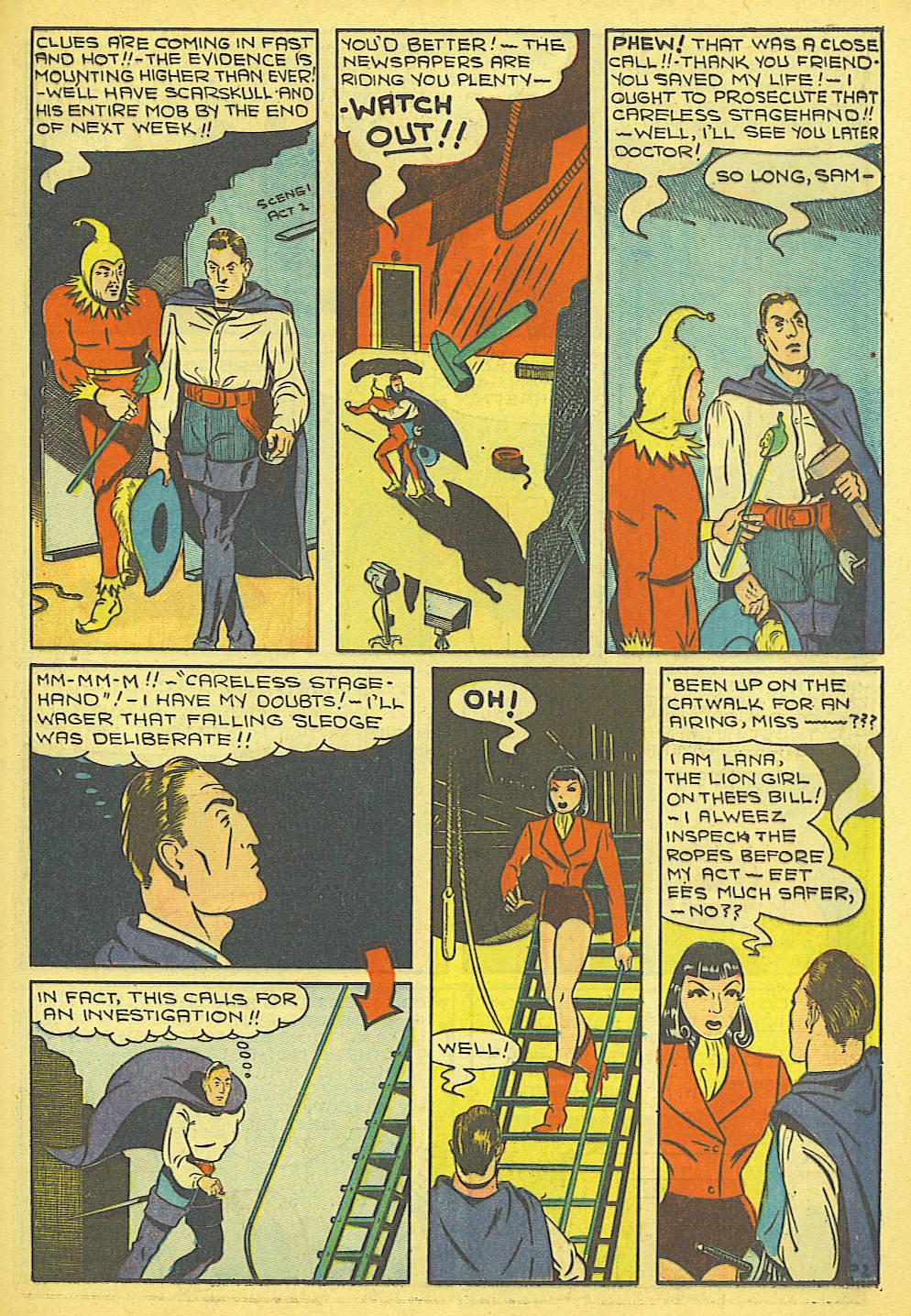 Read online Amazing Man Comics comic -  Issue #19 - 25