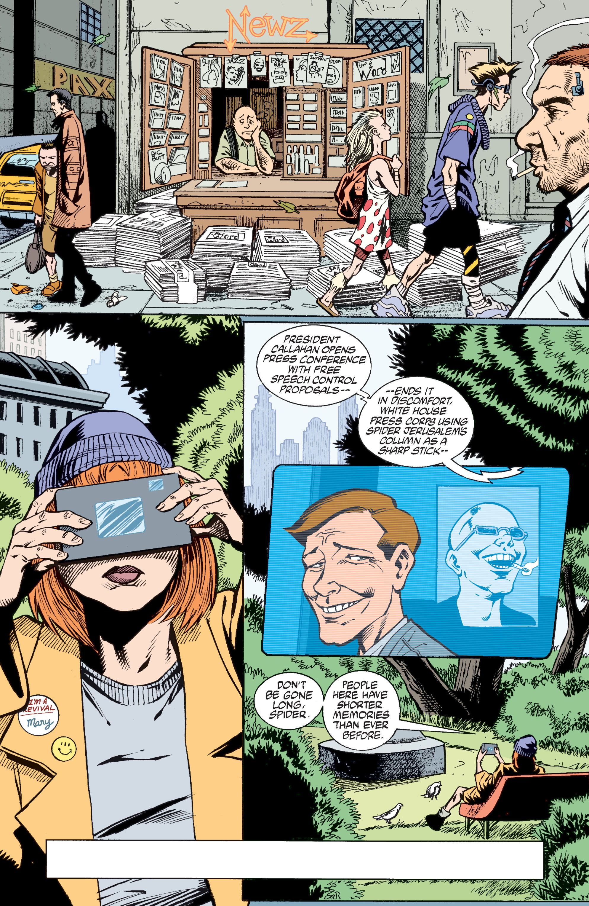 Read online Transmetropolitan comic -  Issue #37 - 4