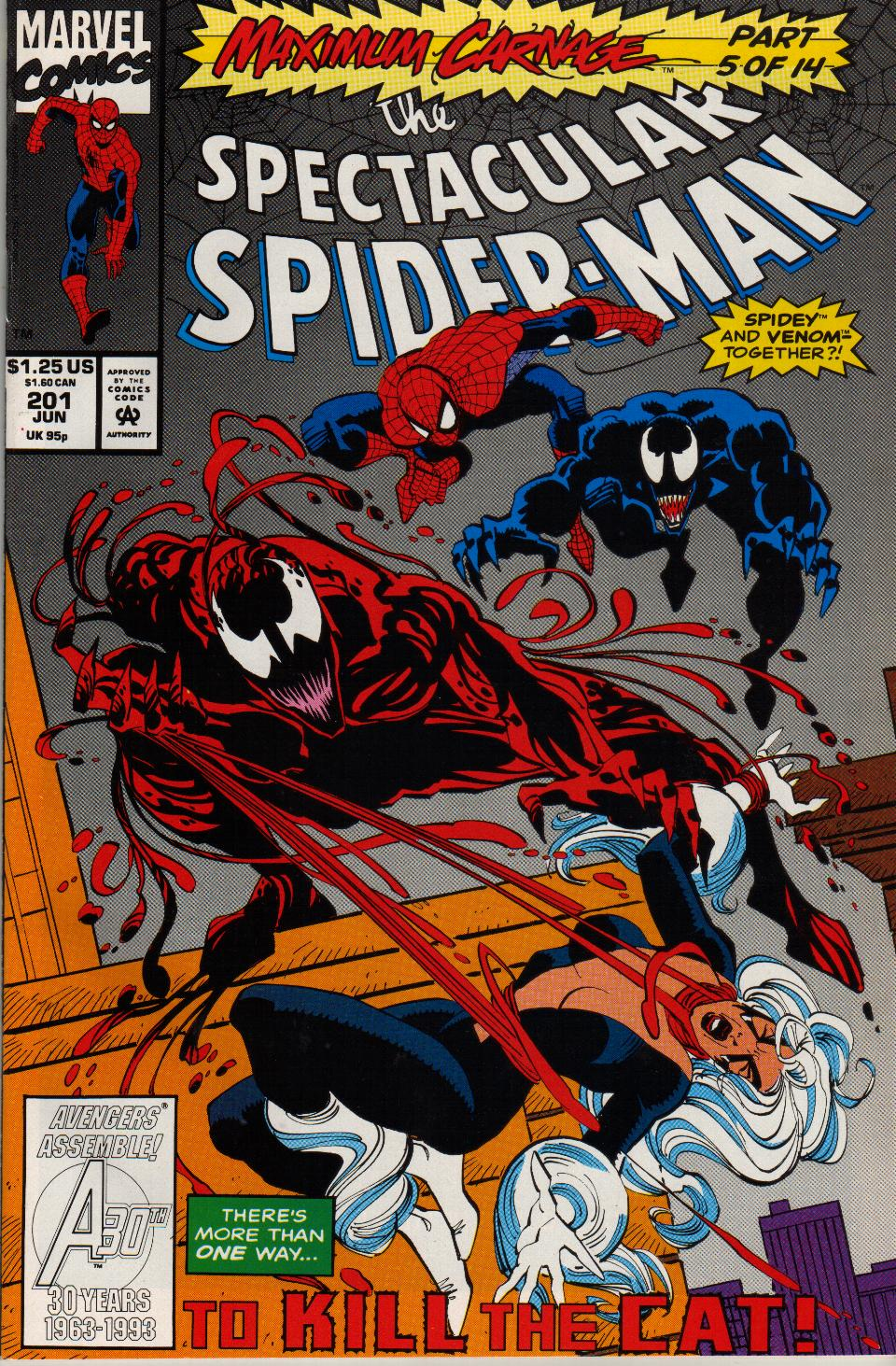 The Spectacular Spider-Man (1976) 201 Page 1