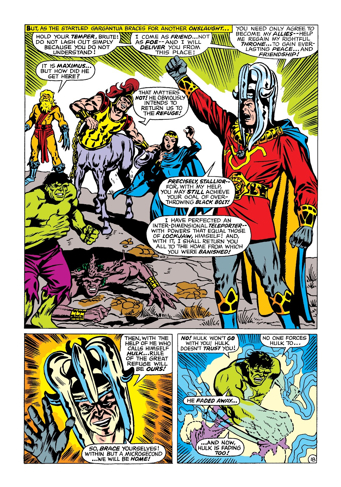Read online Marvel Masterworks: The Incredible Hulk comic -  Issue # TPB 4 (Part 2) - 51