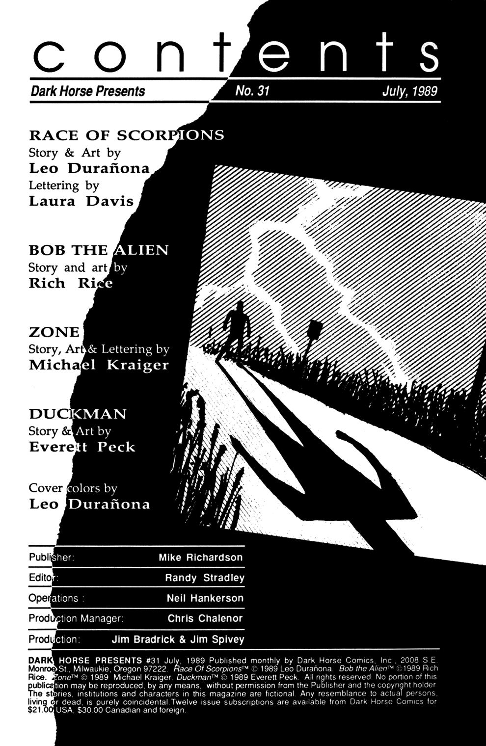 Dark Horse Presents (1986) issue 31 - Page 2