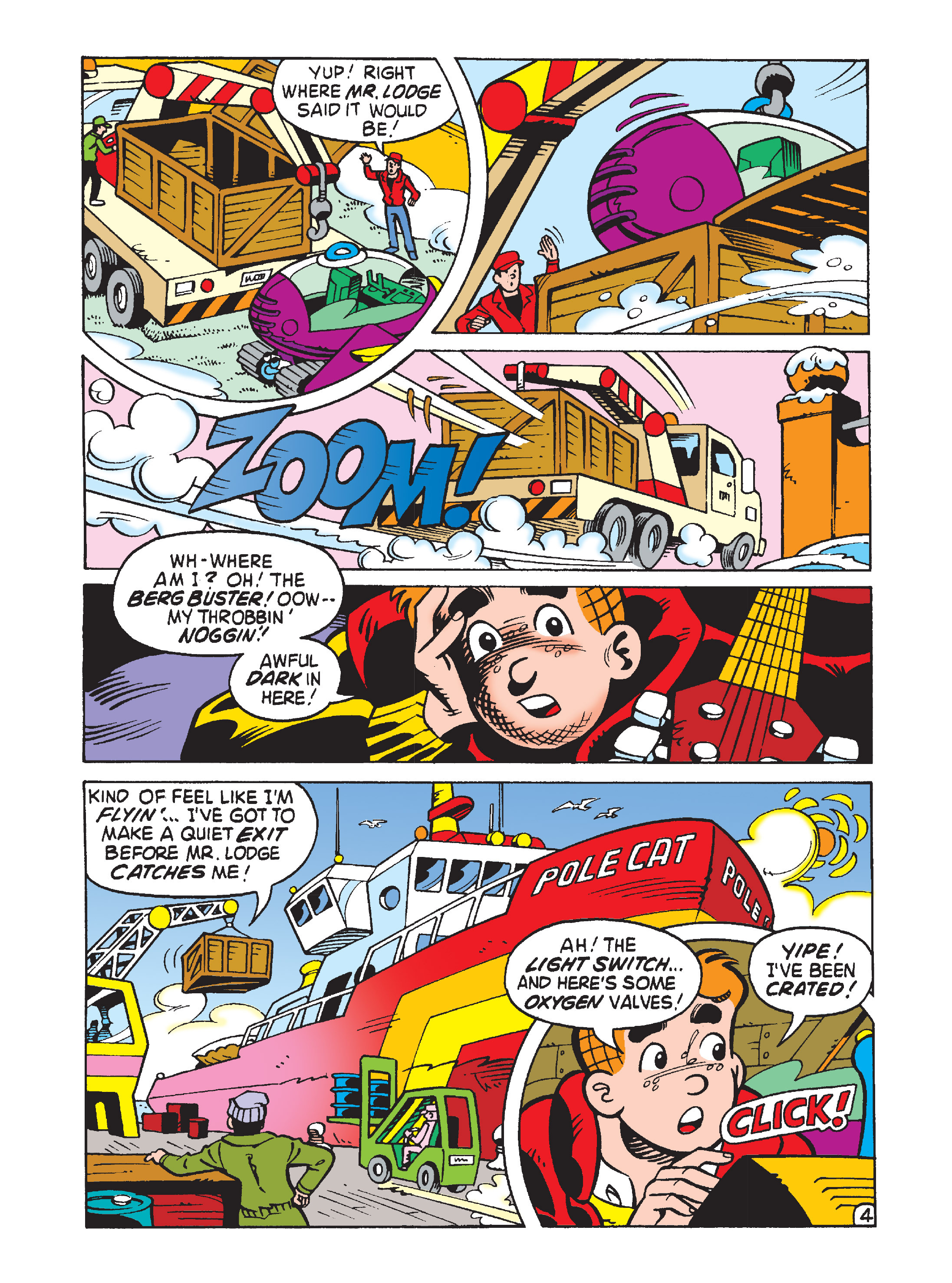 Read online Archie's Funhouse Double Digest comic -  Issue #2 - 98