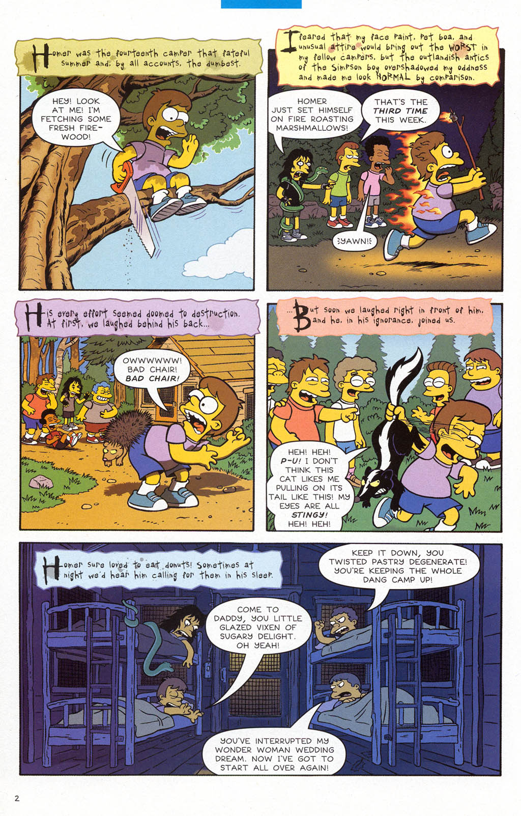 Read online Treehouse of Horror comic -  Issue #10 - 21
