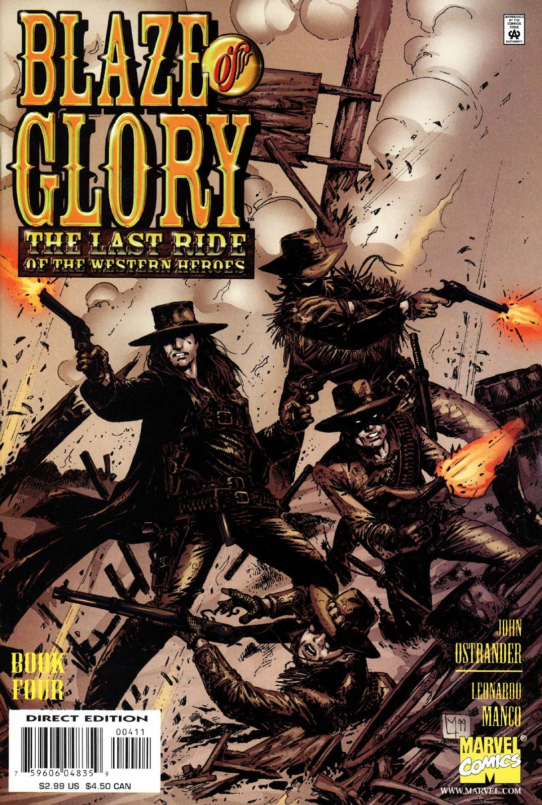 Read online Blaze of Glory comic -  Issue #4 - 1
