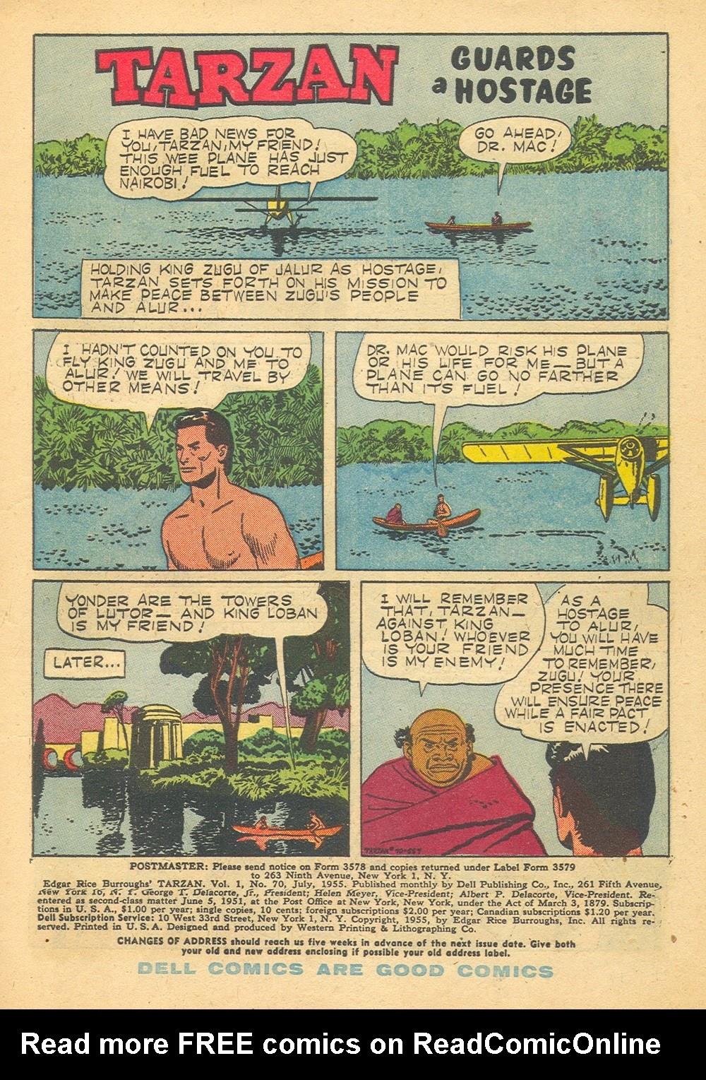 Tarzan (1948) issue 70 - Page 3