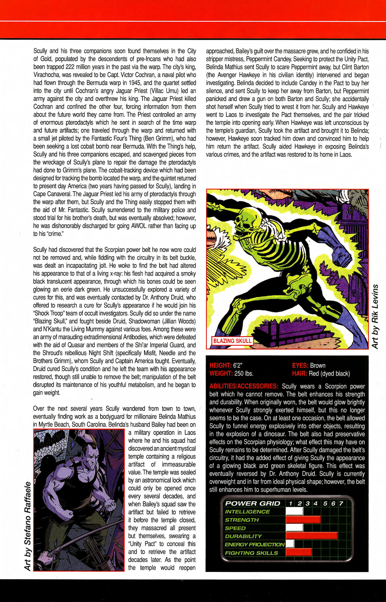 Read online All-New Official Handbook of the Marvel Universe A to Z comic -  Issue #9 - 52