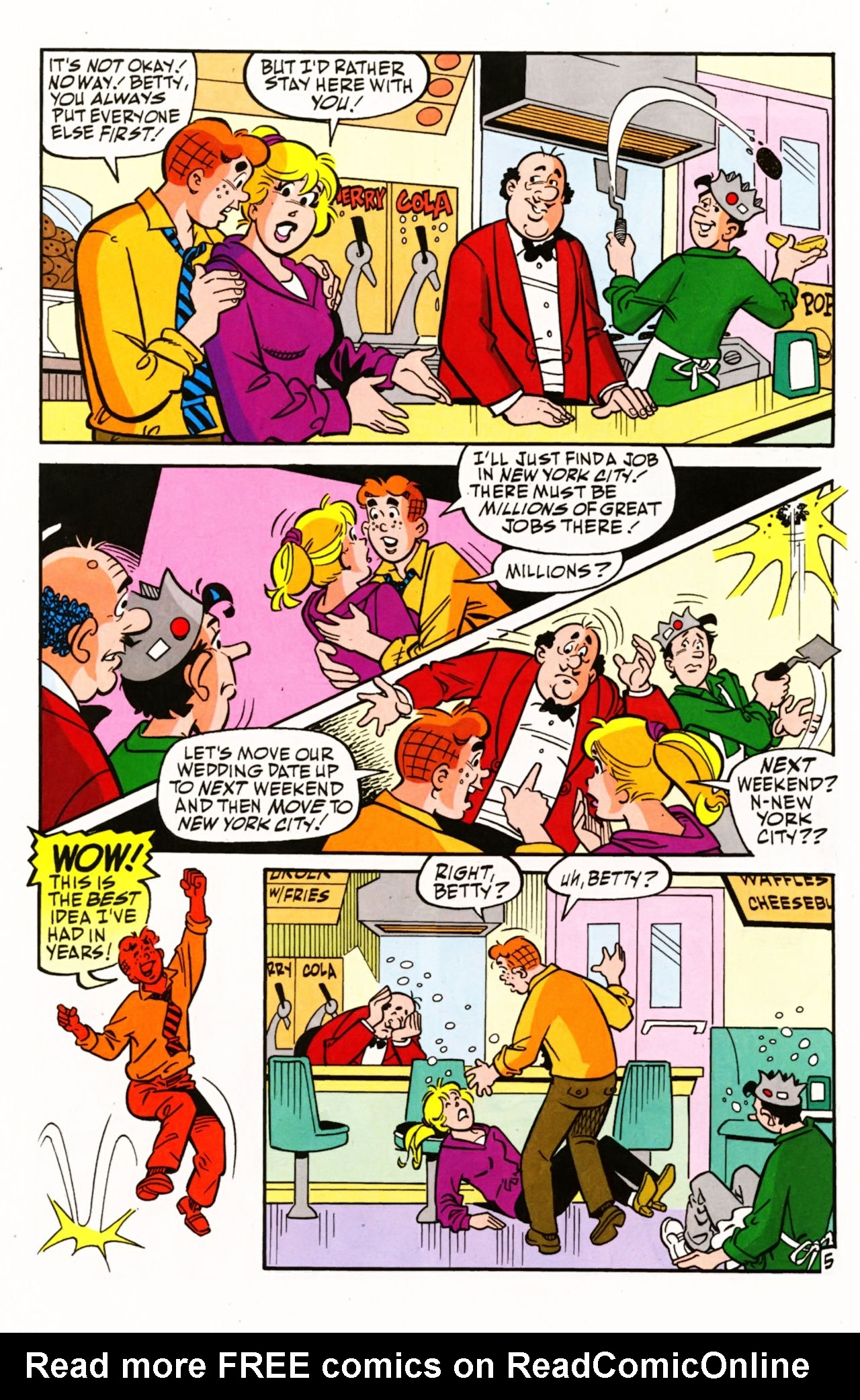 Read online Archie (1960) comic -  Issue #604 - 8