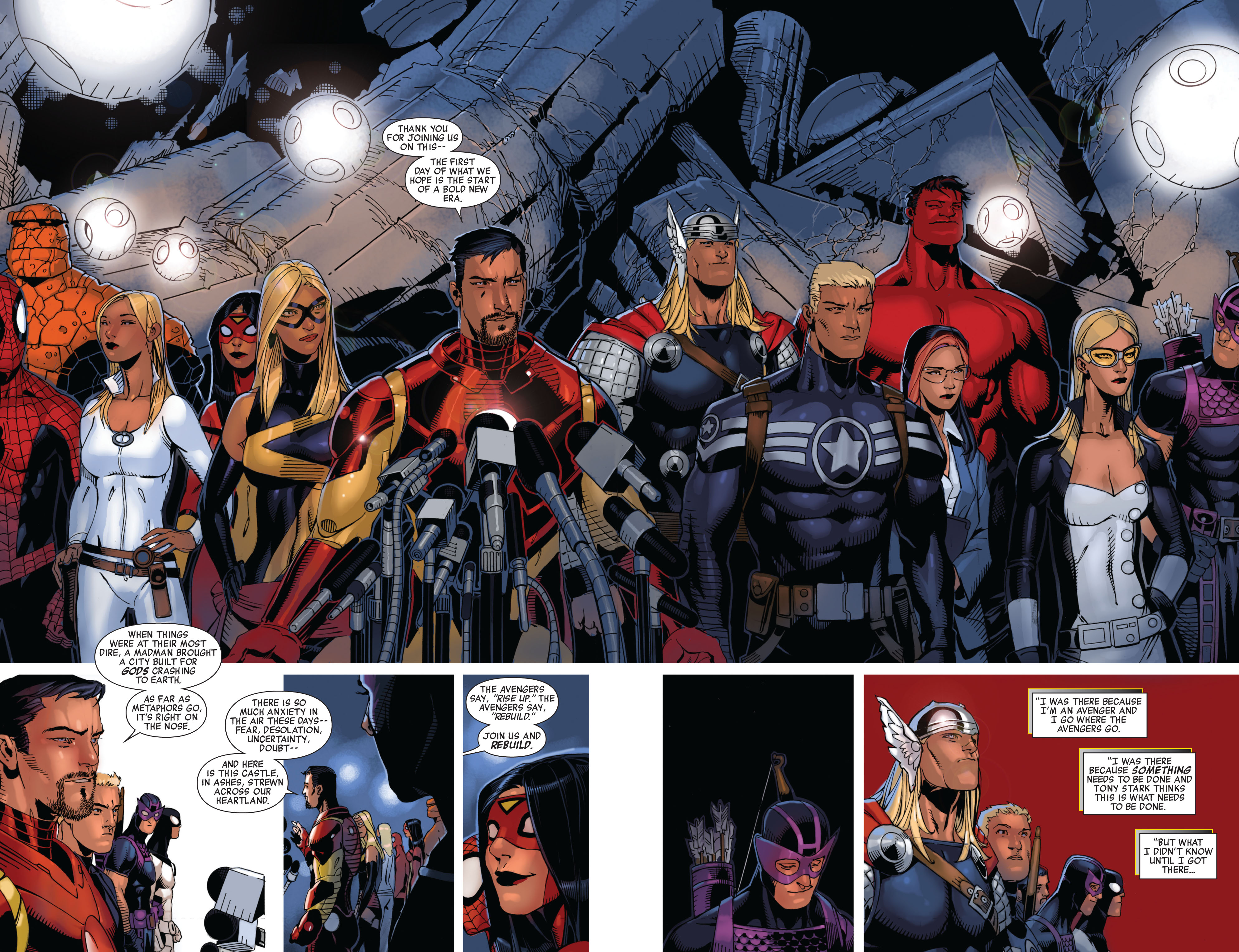 Read online Avengers (2010) comic -  Issue #13 - 18