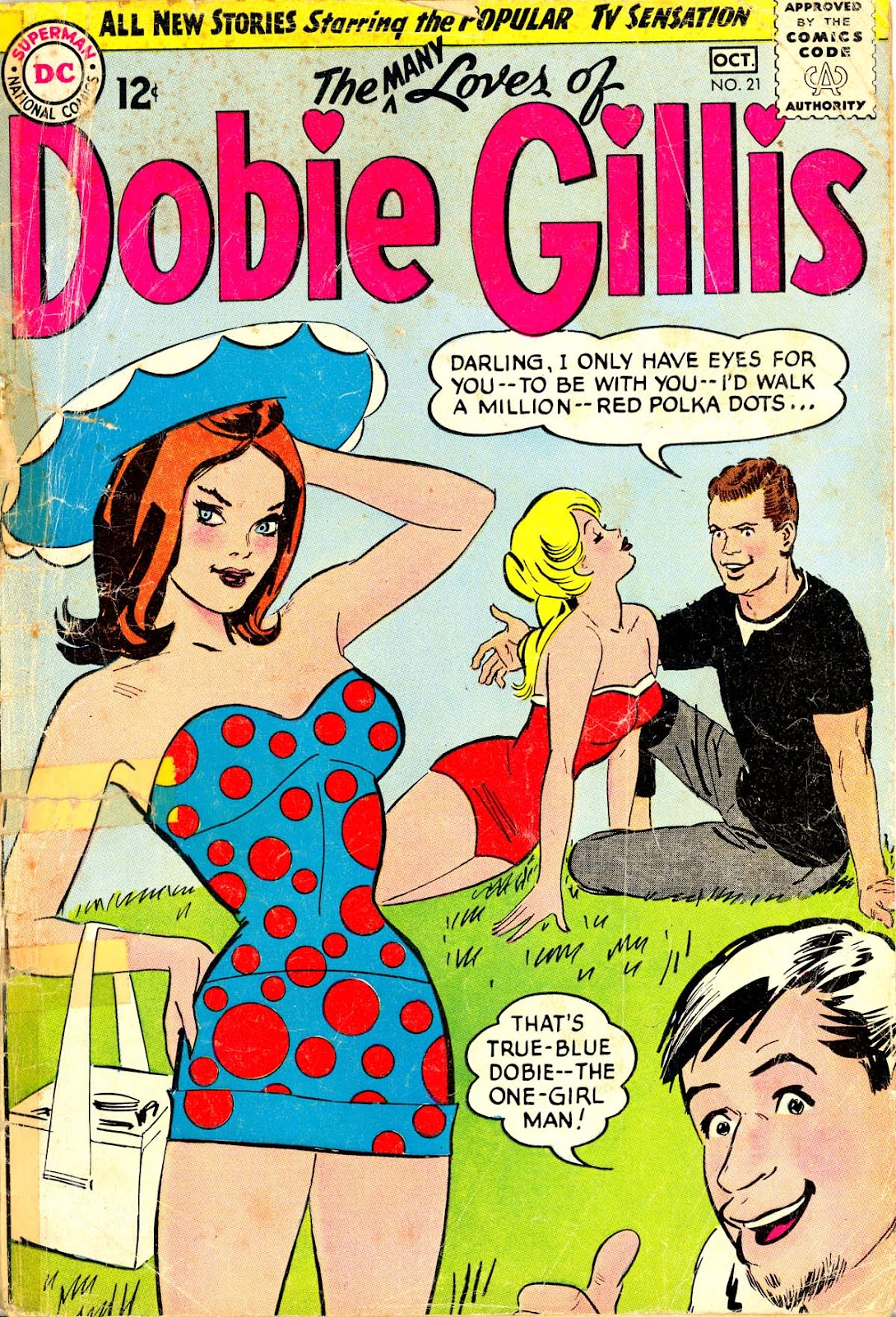 Many Loves of Dobie Gillis 21 Page 1