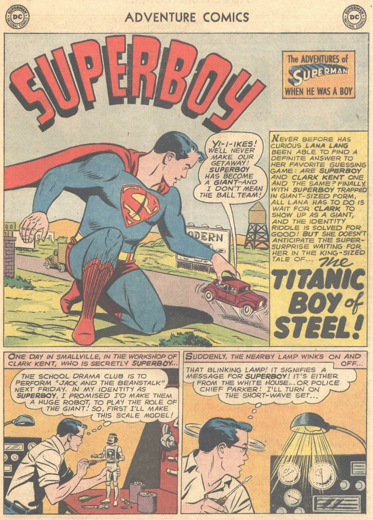 Read online Adventure Comics (1938) comic -  Issue #315 - 23