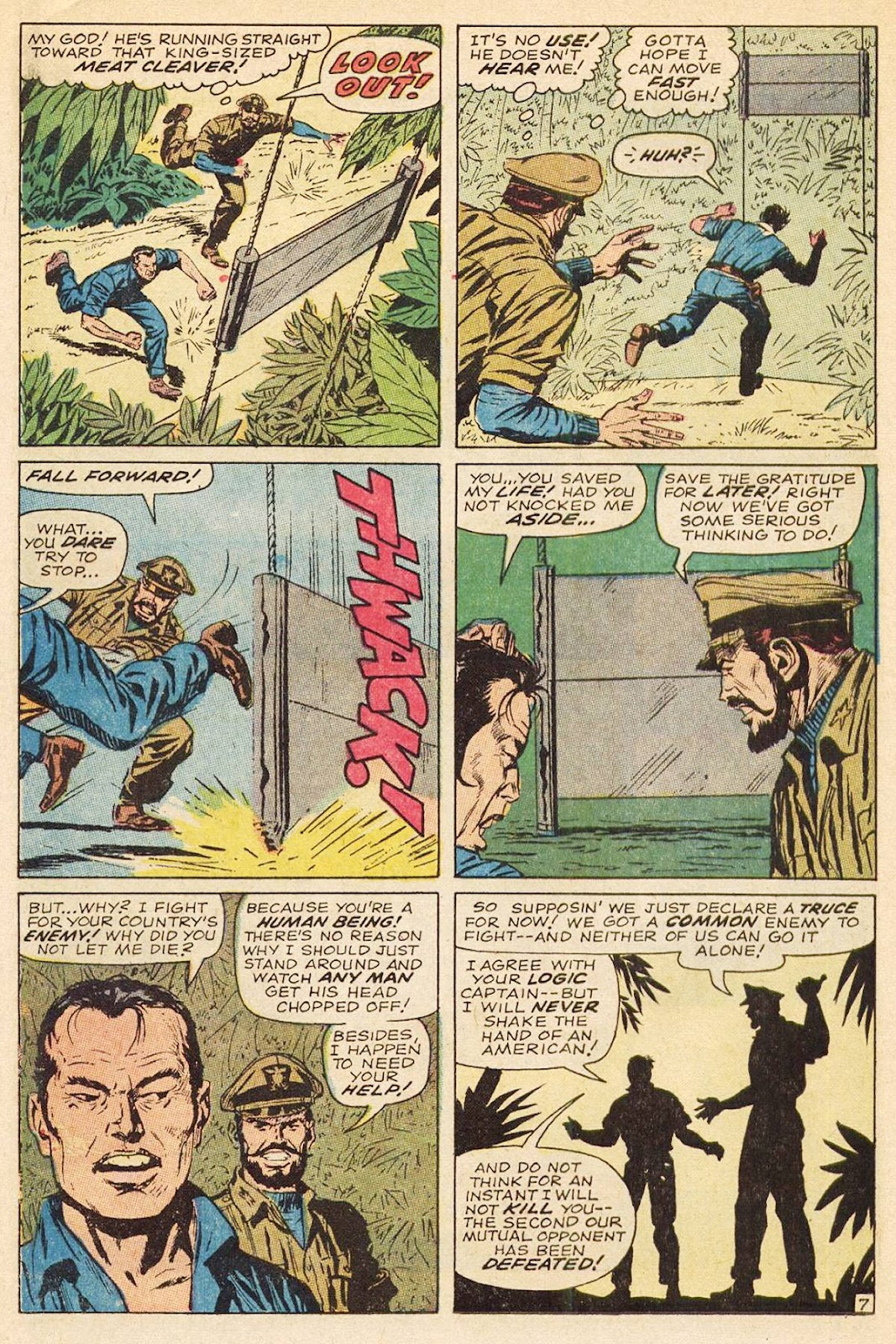 Captain Savage and his Leatherneck Raiders issue 3 - Page 12