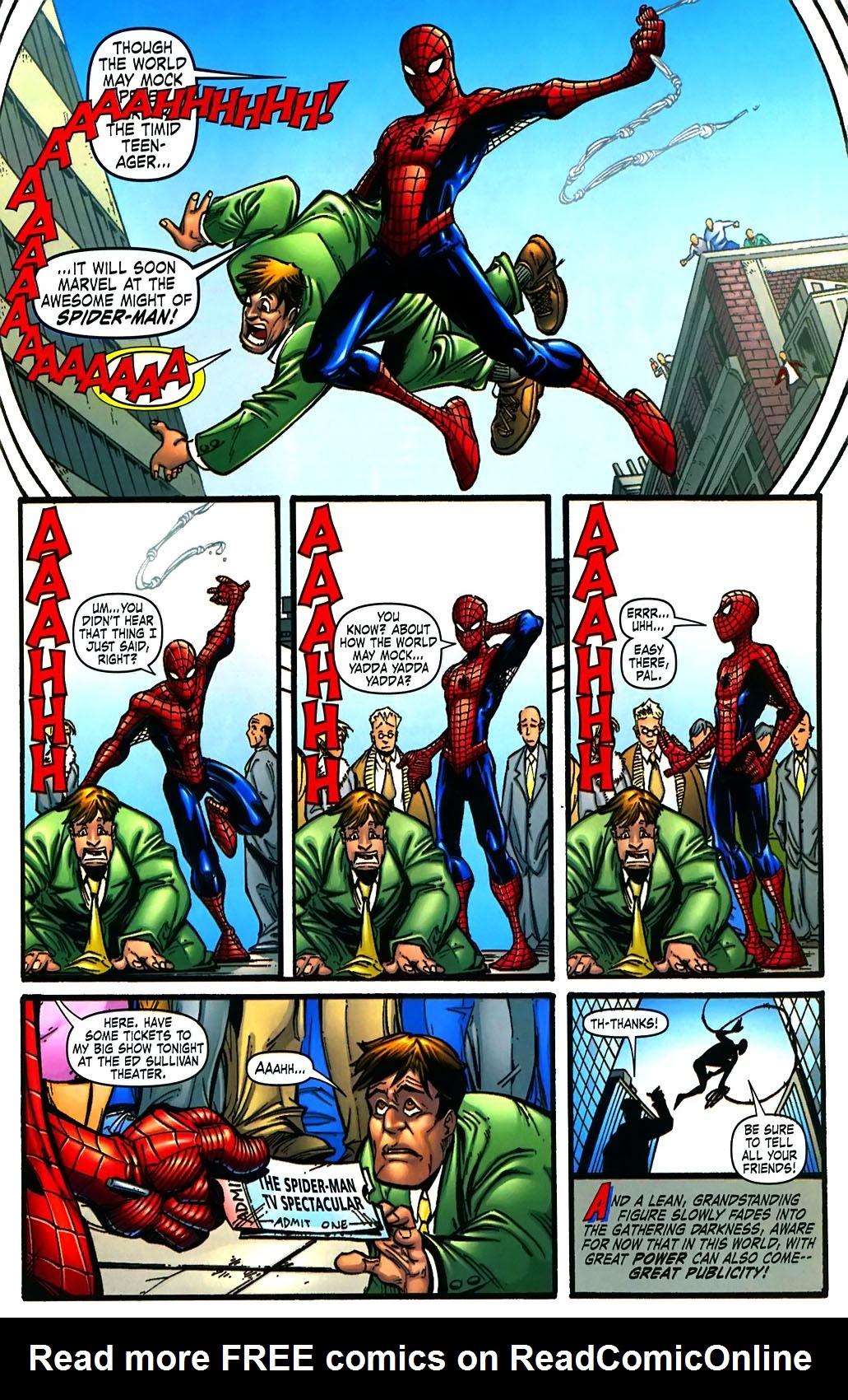 Read online Amazing Fantasy (2004) comic -  Issue #15 - 52