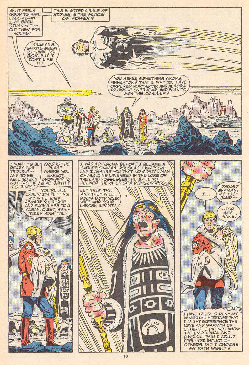 Read online Alpha Flight (1983) comic -  Issue #37 - 11